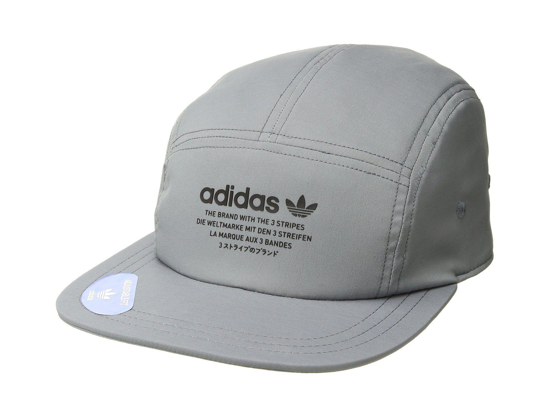 Lyst - adidas Originals Originals Nmd 5-panel (grey black) Caps in ... ae3db7efa2f2