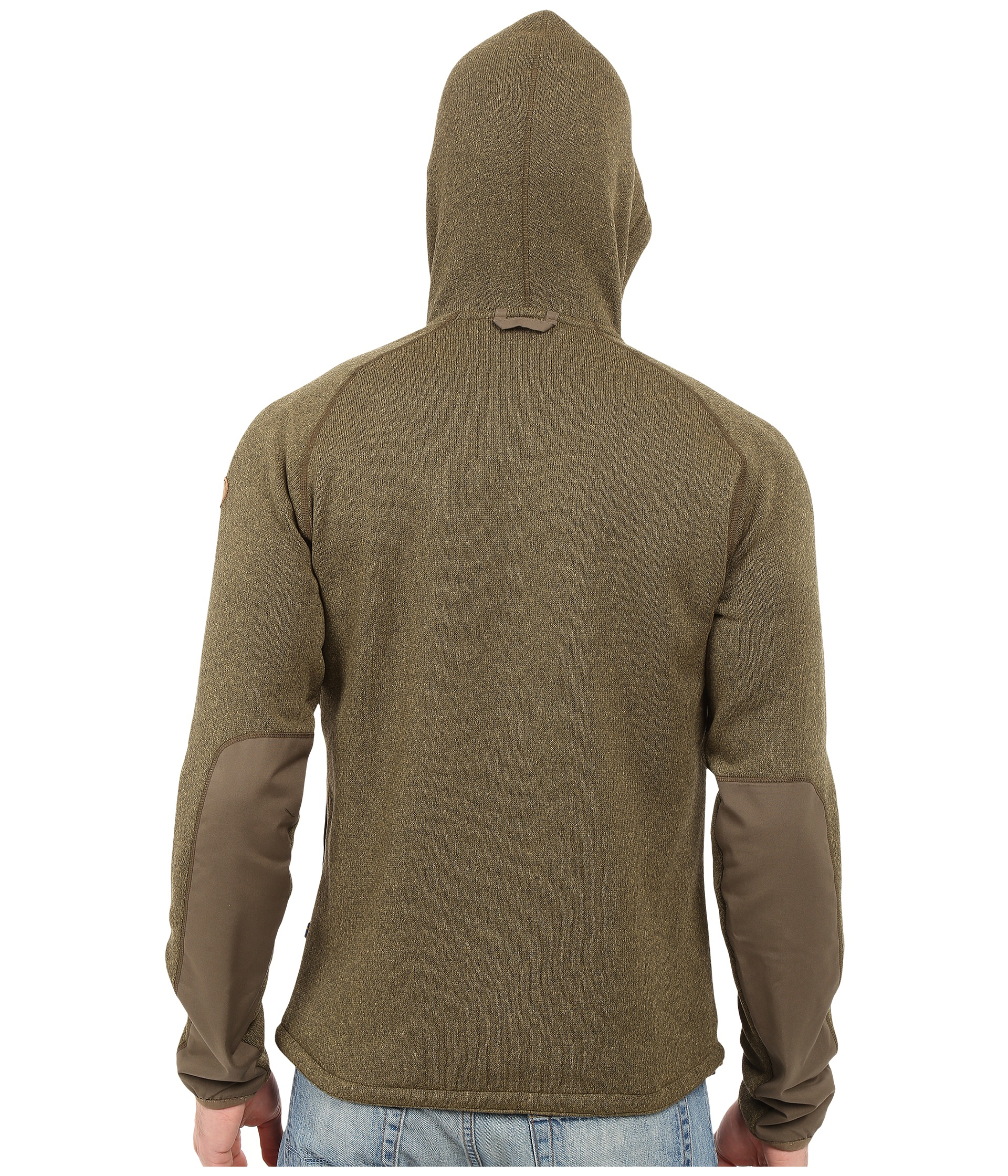Fjallraven 214 Vik Fleece Hoodie In Green For Men Lyst