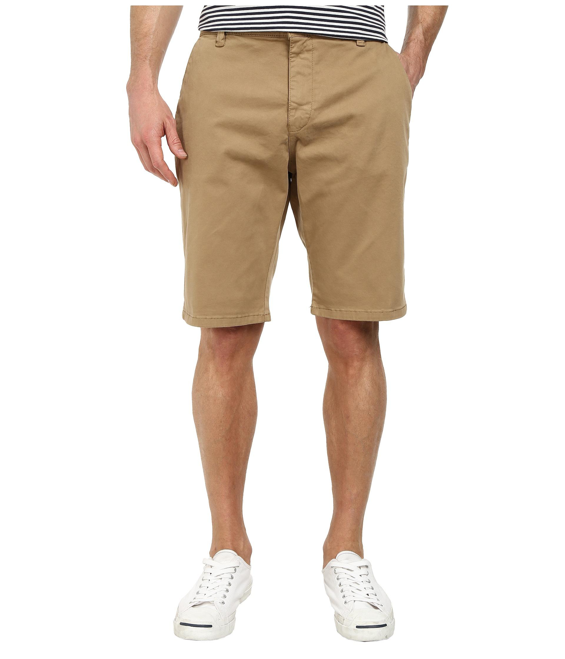 Lyst - Mavi jeans Jacob Shorts in Brown for Men
