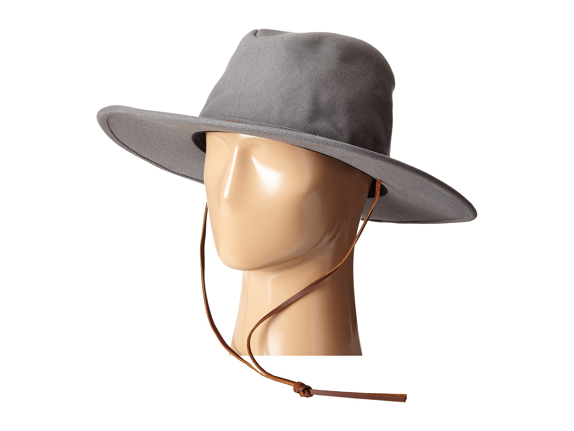 04871bf7ff234 ... order lyst brixton ranger ii hat in gray for men a7ab8 4de61