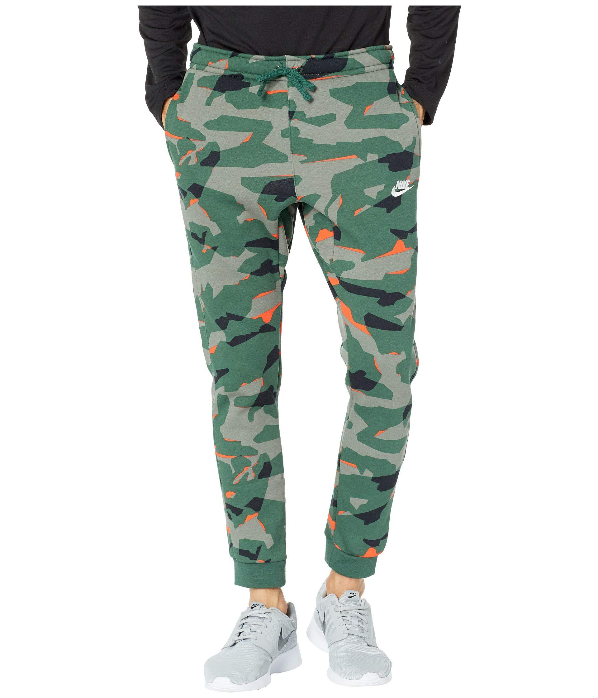 9a547f29fcf Lyst - Nike Nsw Club Camo Jogger Bb (cool Grey anthracite white ...