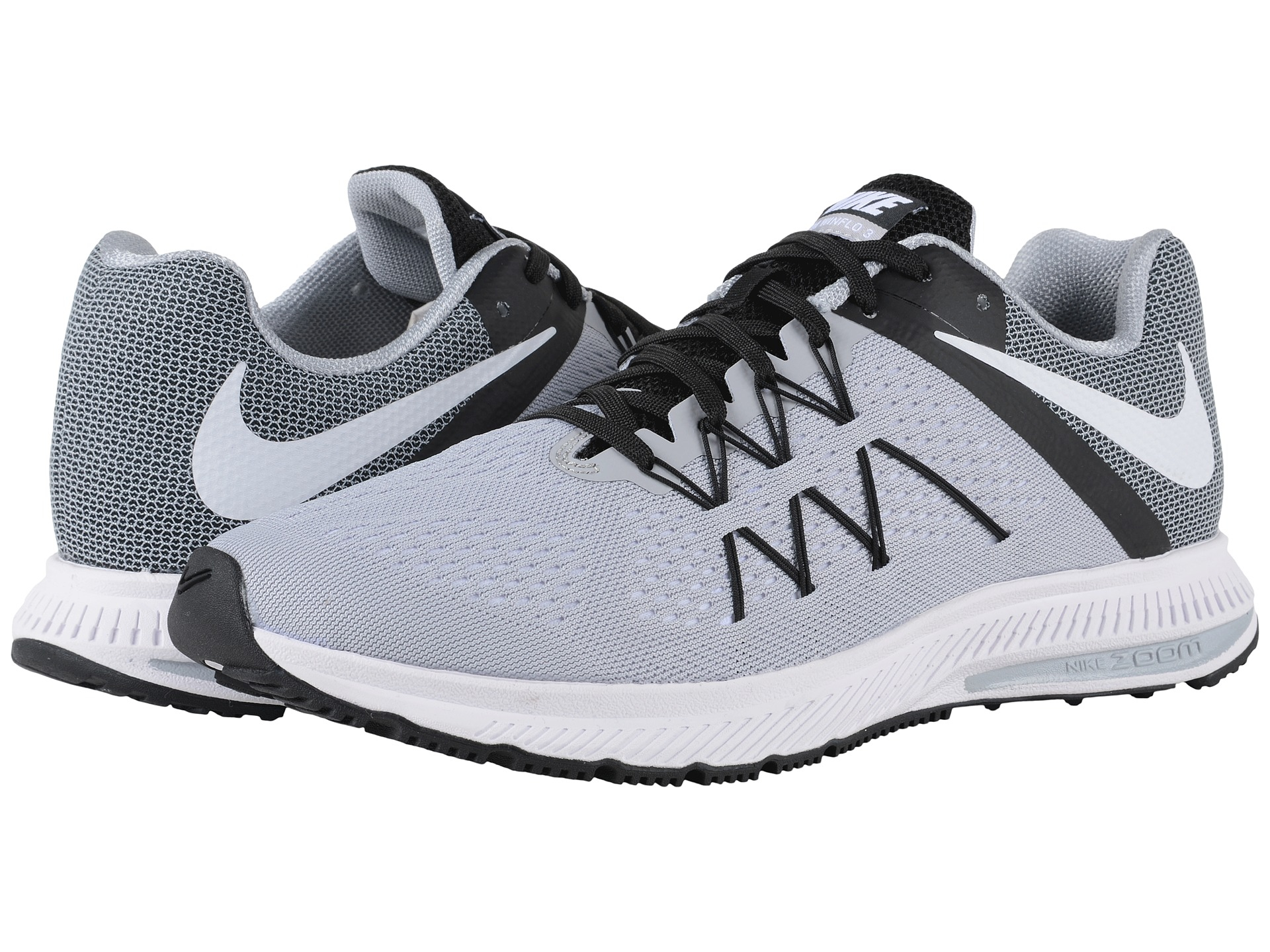 new arrival 449e9 faaac ... Lyst - Nike Zoom Winflo 3 in Gray for Men ...