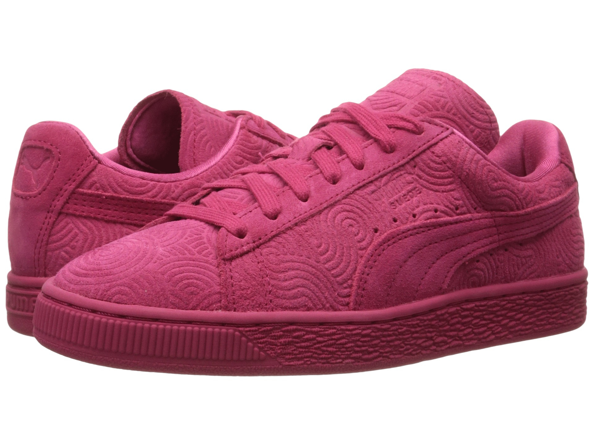 puma suede classic colored in pink lyst. Black Bedroom Furniture Sets. Home Design Ideas