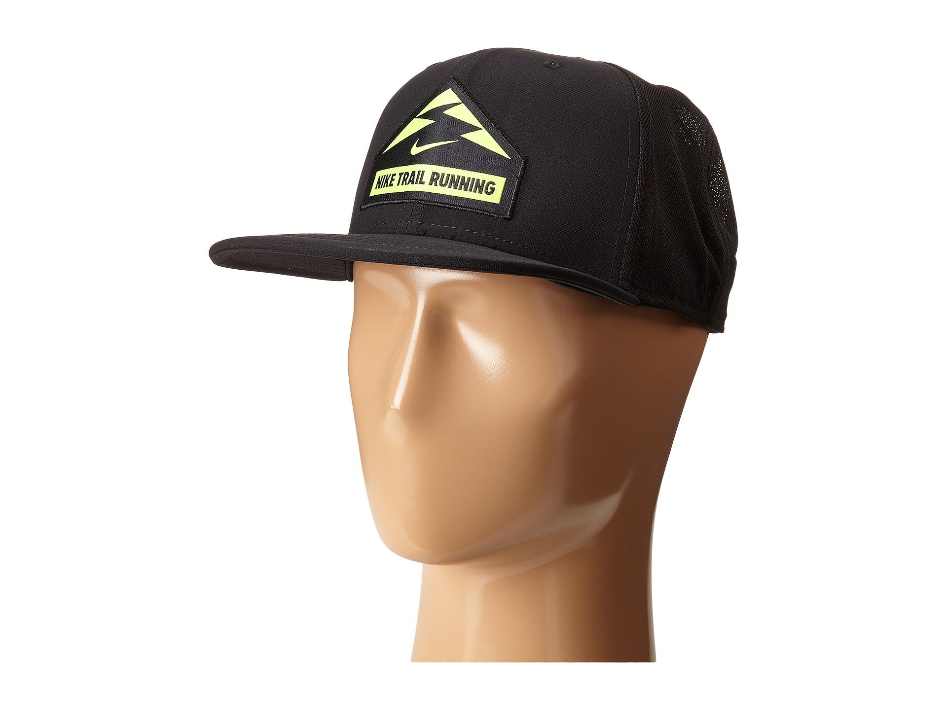 Lyst Nike Trail Run Trucker Hat In Black For Men