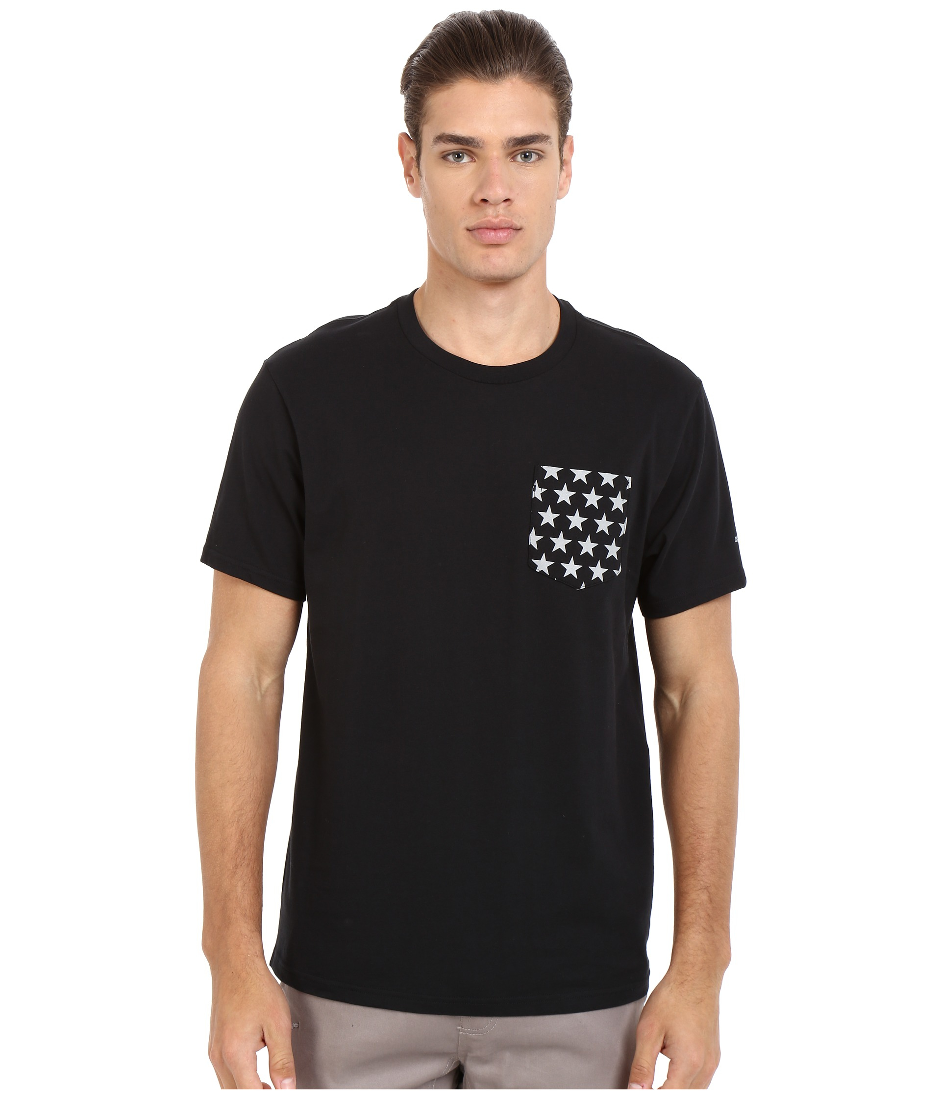 4e801816b9ea Lyst - Converse Ctasii Reflective Pocket Tee in Black for Men