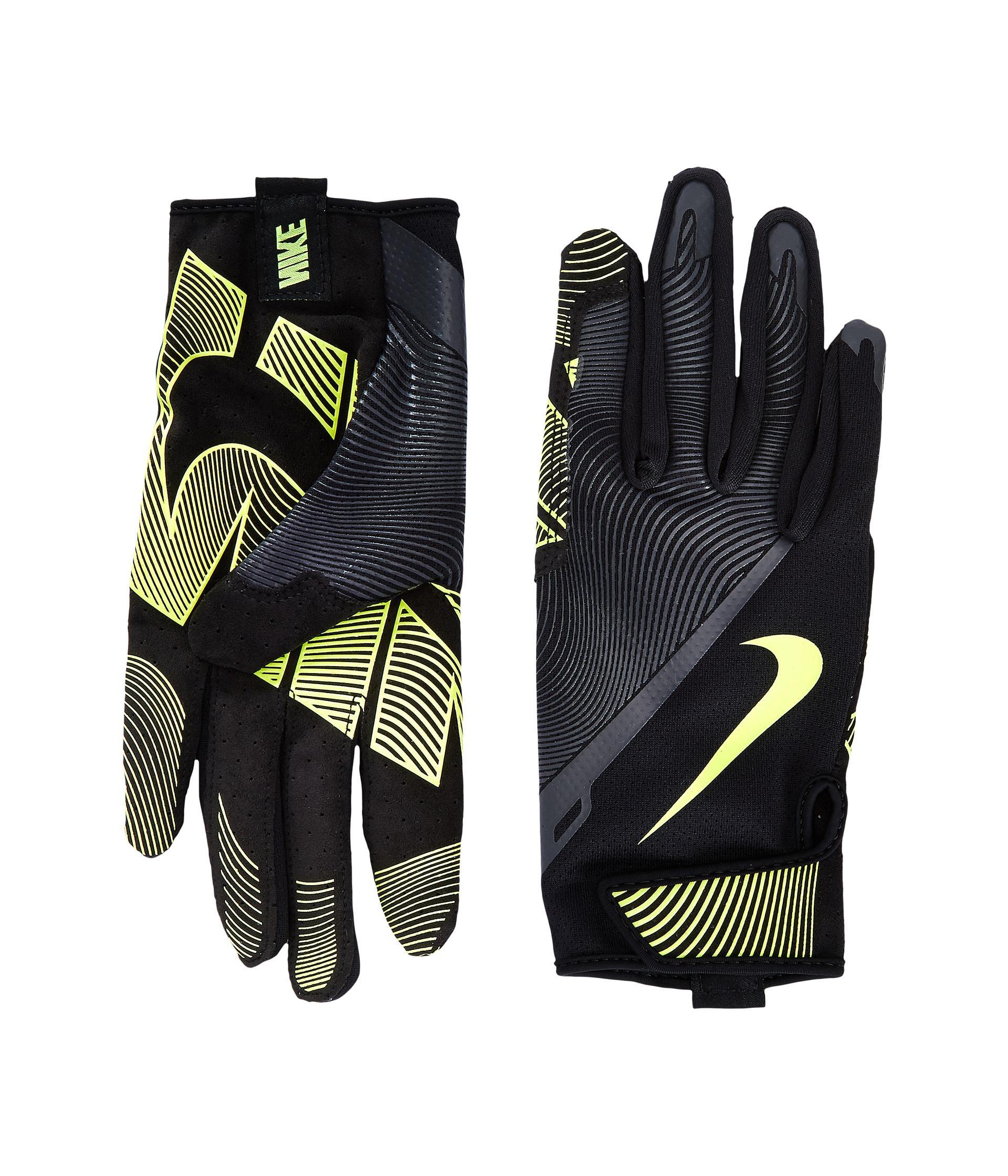 Mens nike leather gloves - Nike Men S Black Lunatic Training Gloves