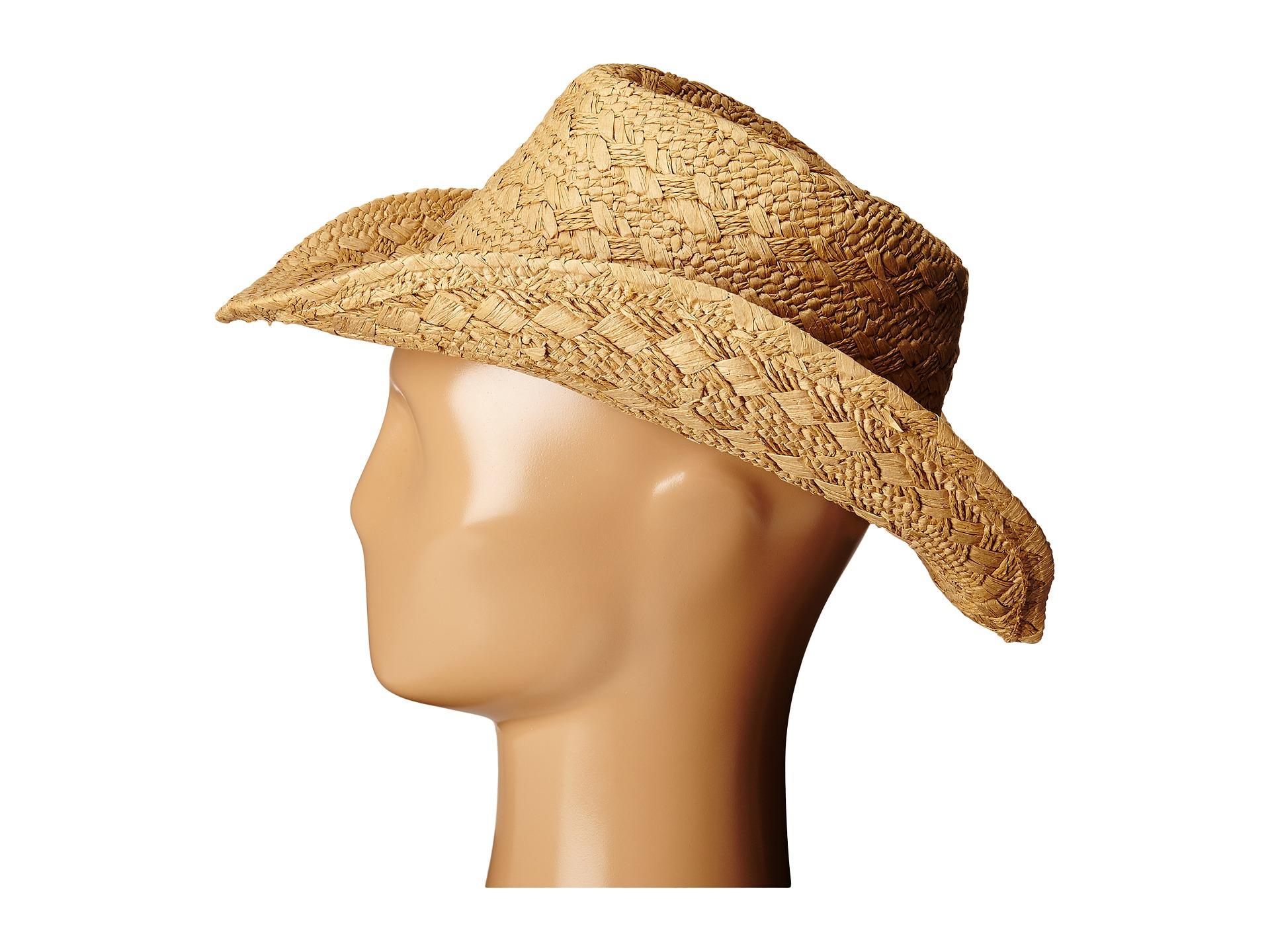 Lyst - Roxy Cowgirl Straw Hat 33a9b68de634