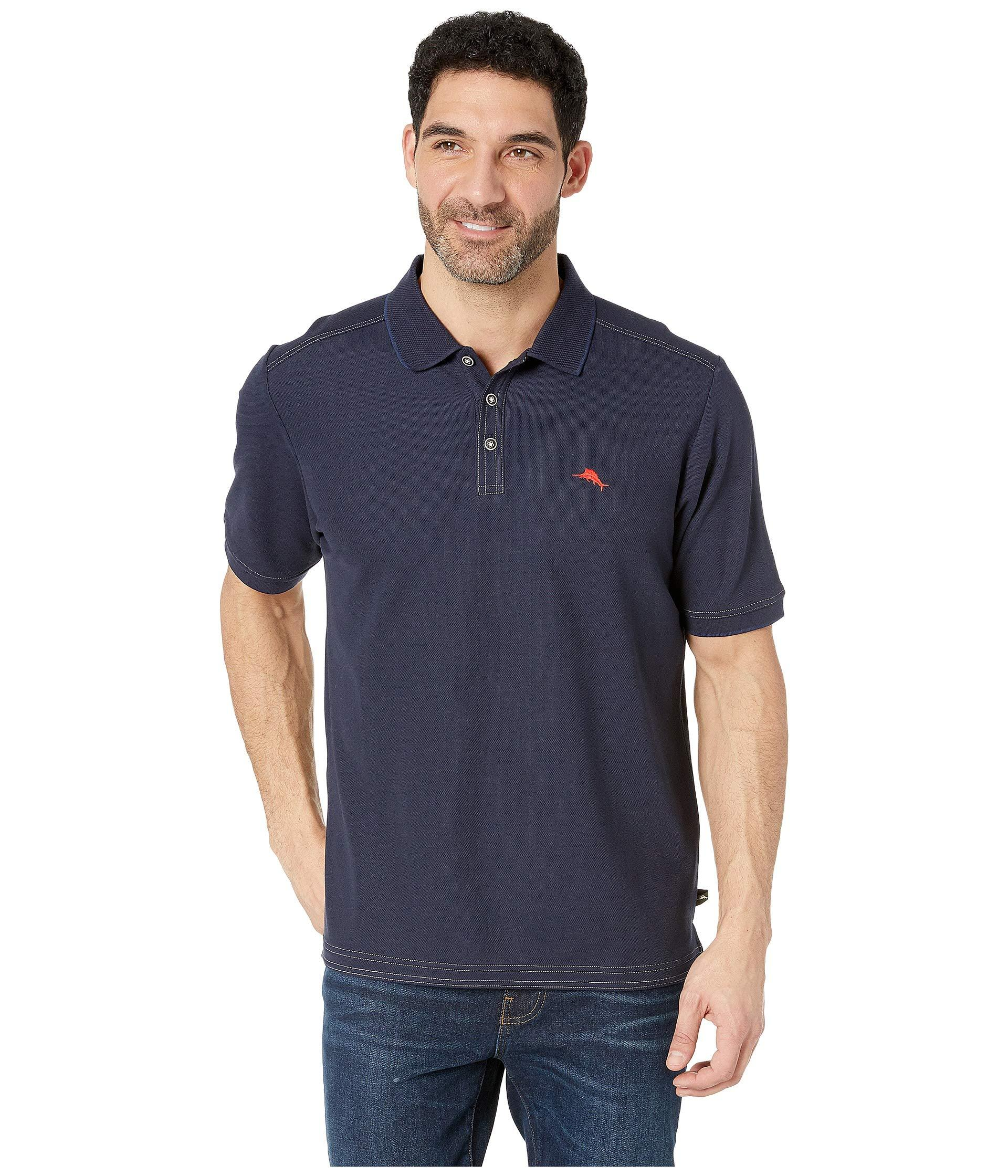 346928246ae719 Lyst - Tommy Bahama Emfielder 2.0 Polo (blue Note) Men s Clothing in ...