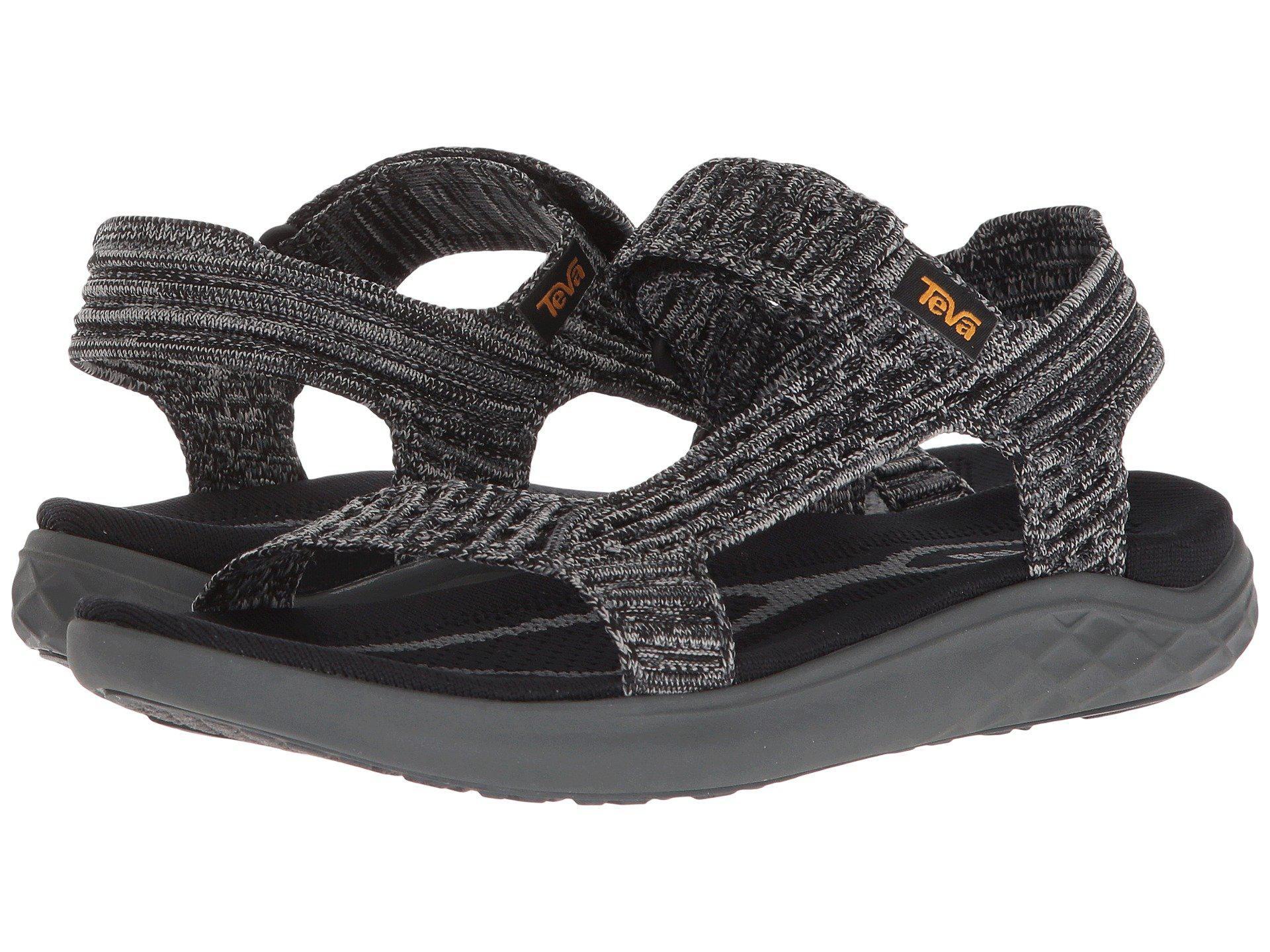 bef96fe559b3 Lyst - Teva Terra-float 2 Knit Universal (black grey) Women s Shoes ...