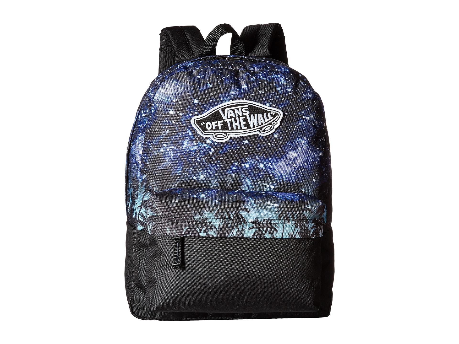Lyst - Vans Realm Divide Backpack in Blue for Men fecca756f2c13
