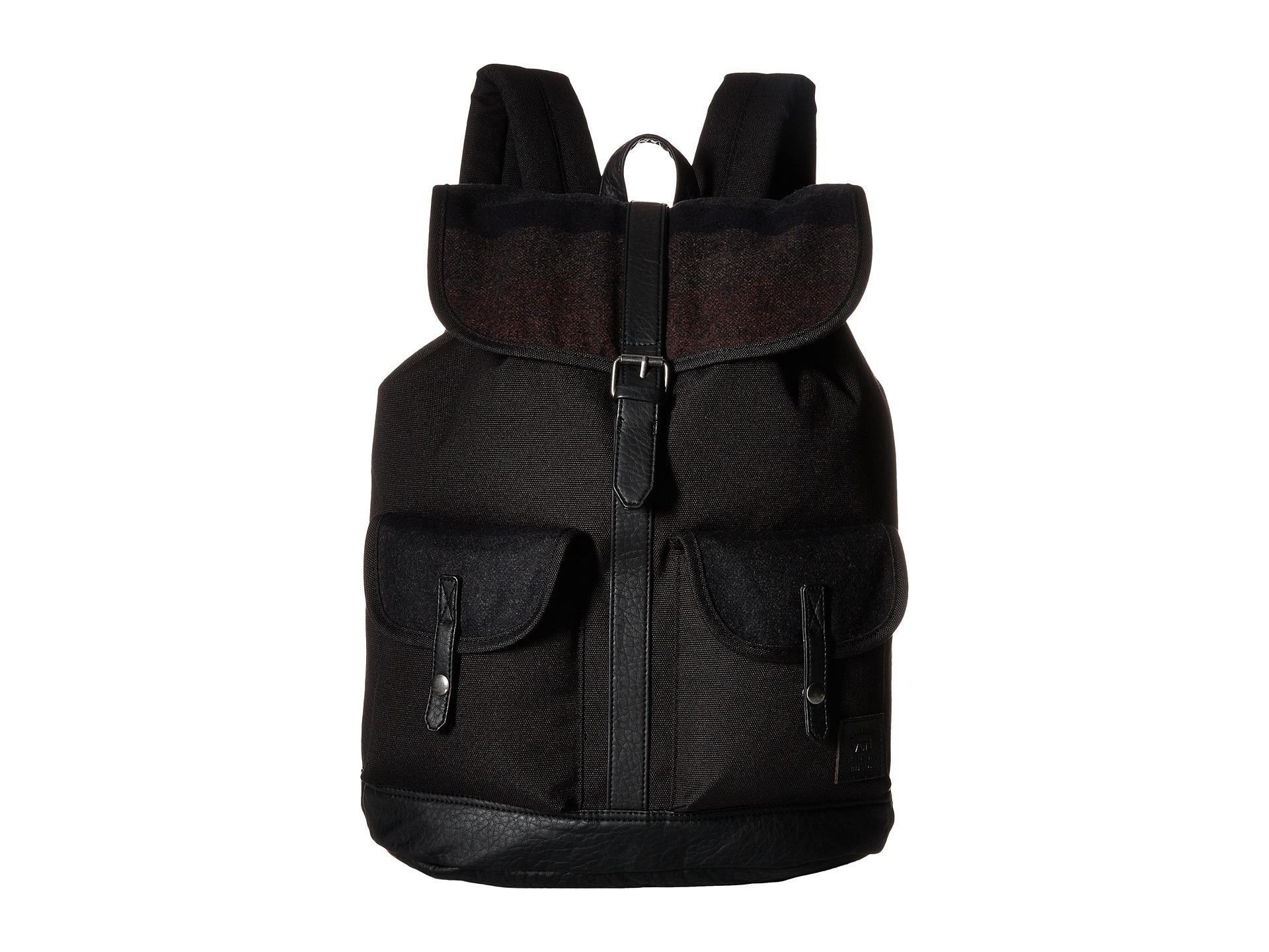 f09a813af6 Lyst - Vans Lean In Backpack in Black