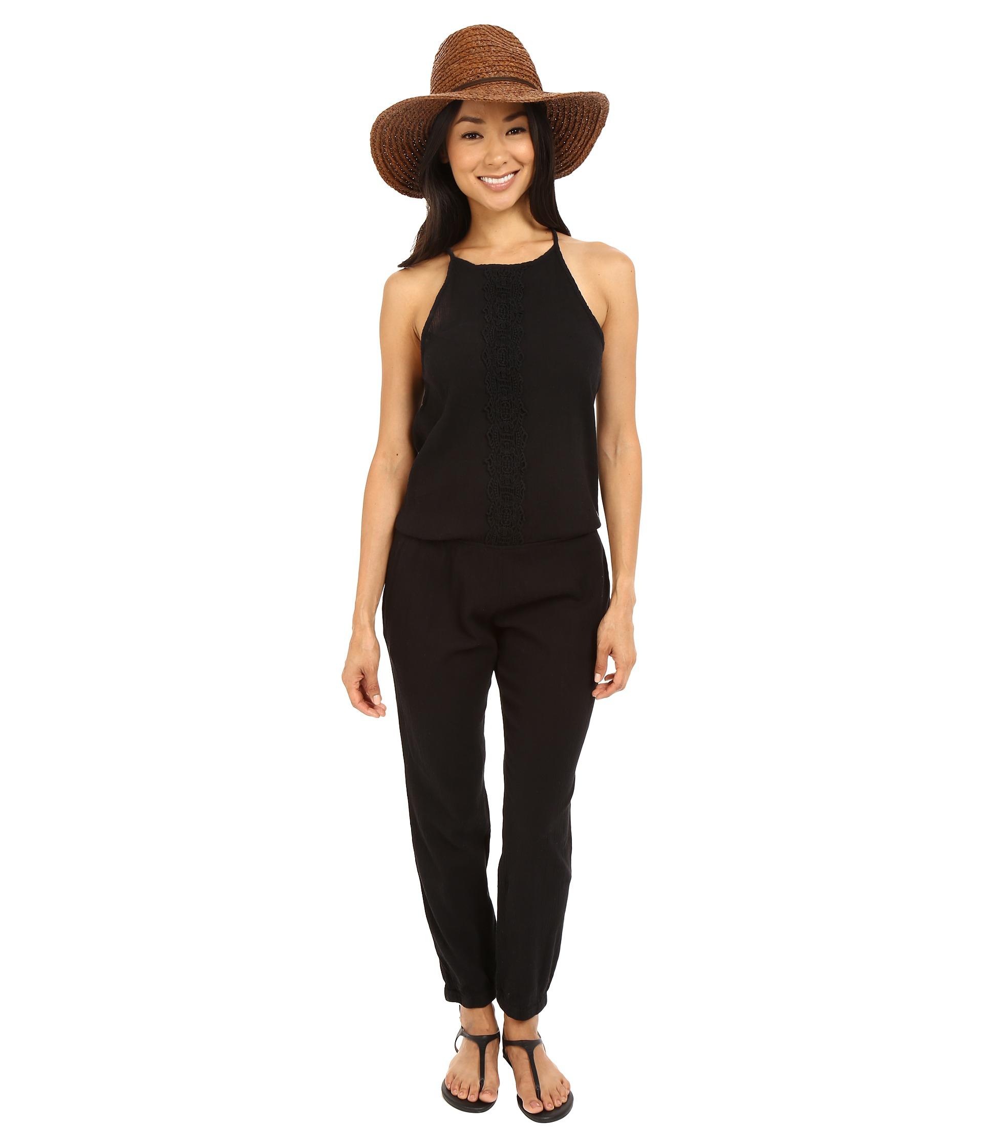 3079a0069256 Lyst - Rip Curl Daybreak Jumpsuit in Black