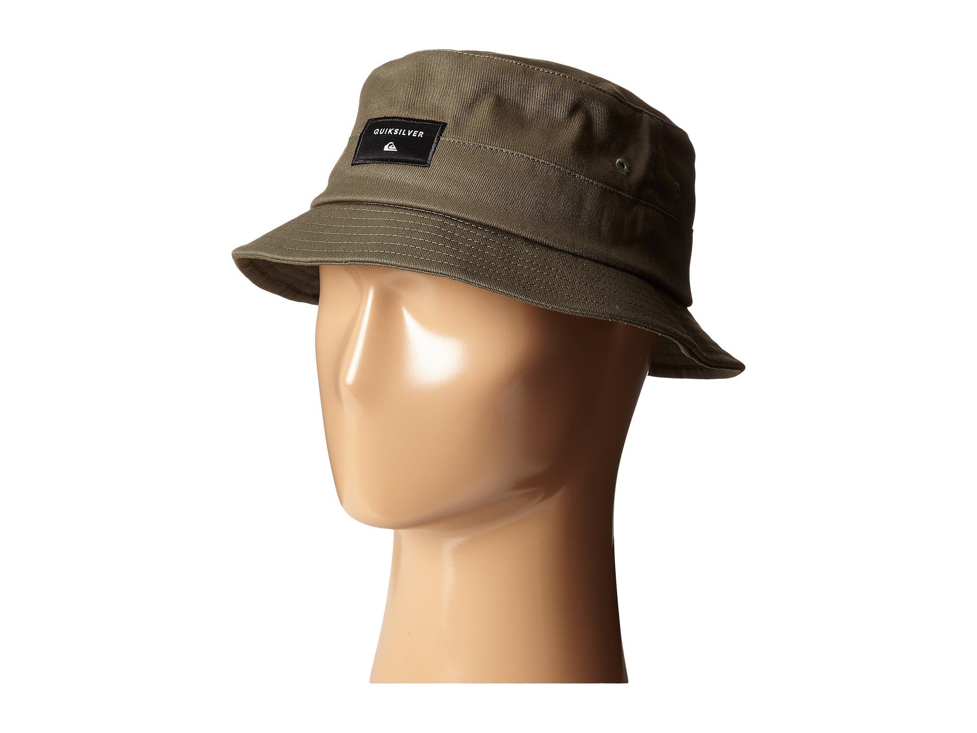8e620ed47e8a2 ... wholesale lyst quiksilver stuckit bucket hat for men fa1e7 ecaa7
