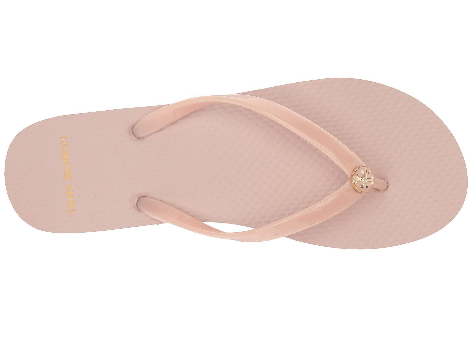 e95c1a1b5a76c6 Tory Burch - Pink Thin Flip Flop (brilliant Red) Women s Sandals - Lyst.  View fullscreen