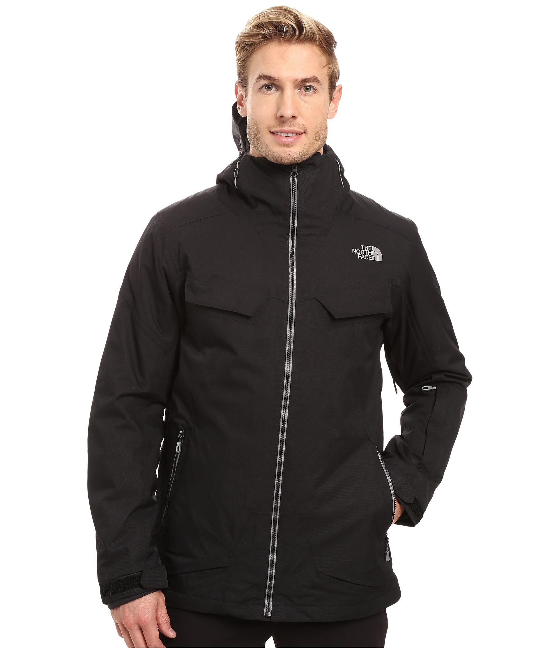3ec29e4b9443 The North Face - Black Initiator Thermoball Triclimate Jacket for Men - Lyst