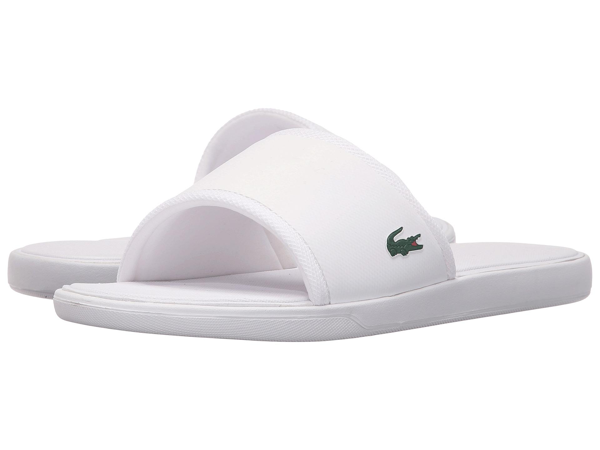 dbc7b489755093 Lyst - Lacoste L.30 Slide Sport Spm in White for Men