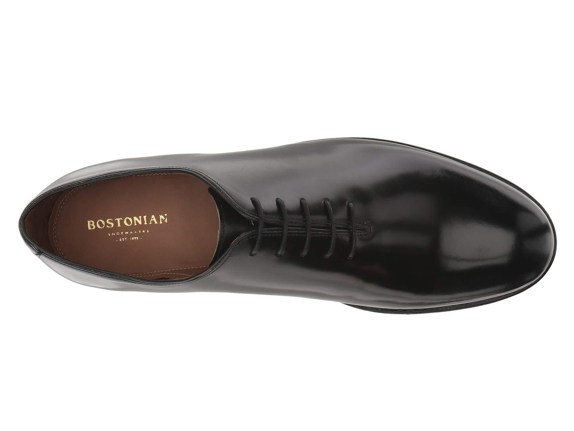4c4d8db5a5733e Lyst - Bostonian Rhodes Oxford (black Leather) Men s Shoes in Black ...