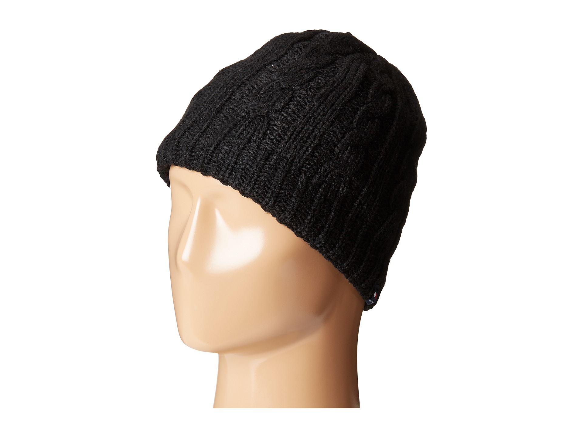 Mens Cable Beanie Tommy Hilfiger yYqymb