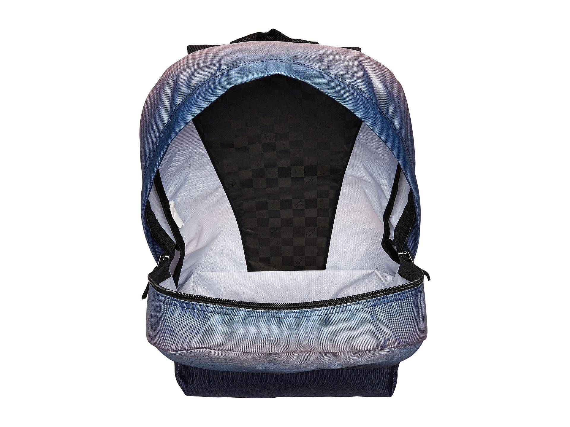 da11becc3b Lyst - Vans New Patch Realm Backpack in Blue
