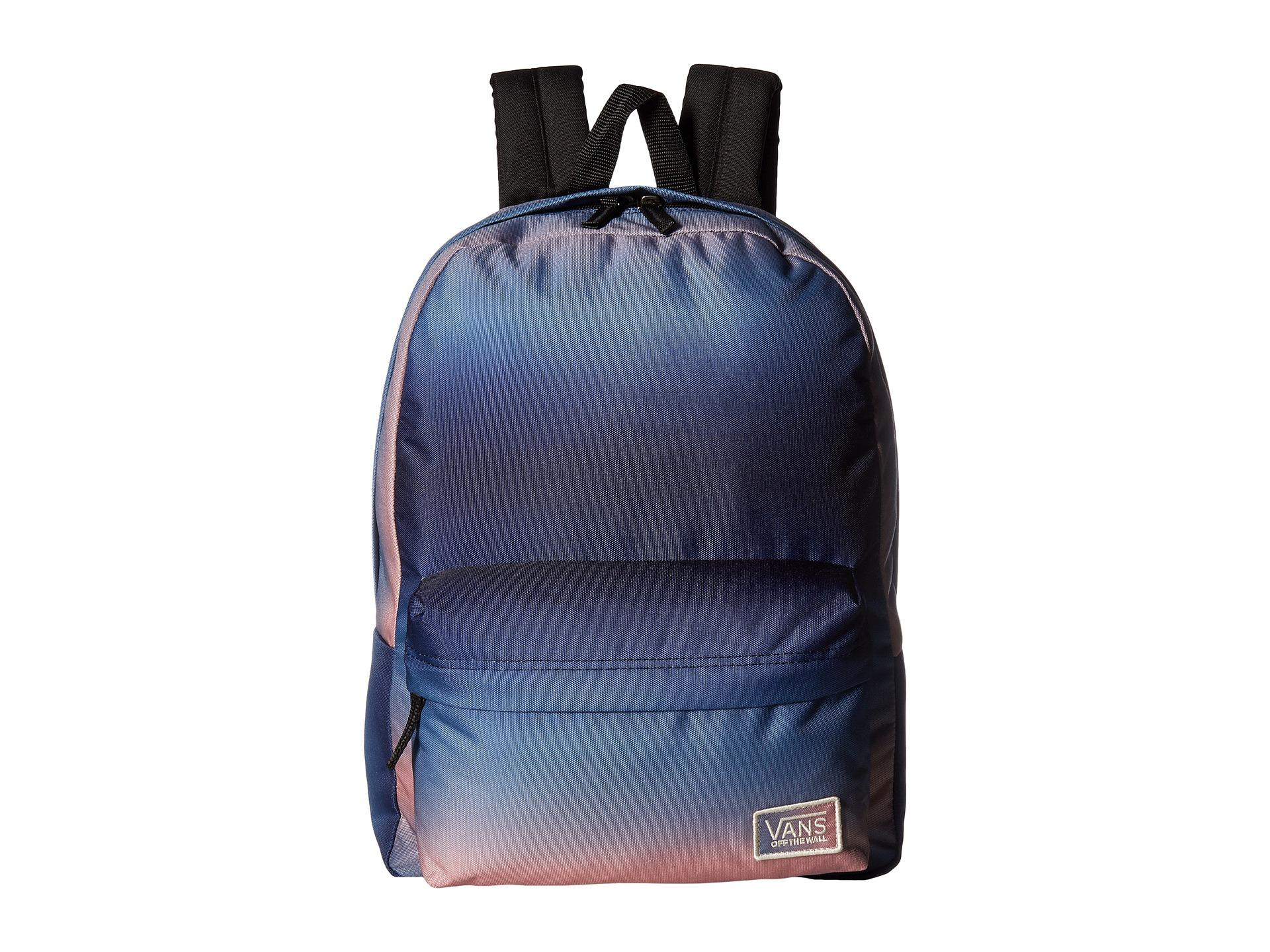 724f4d084657 Lyst - Vans New Patch Realm Backpack in Blue