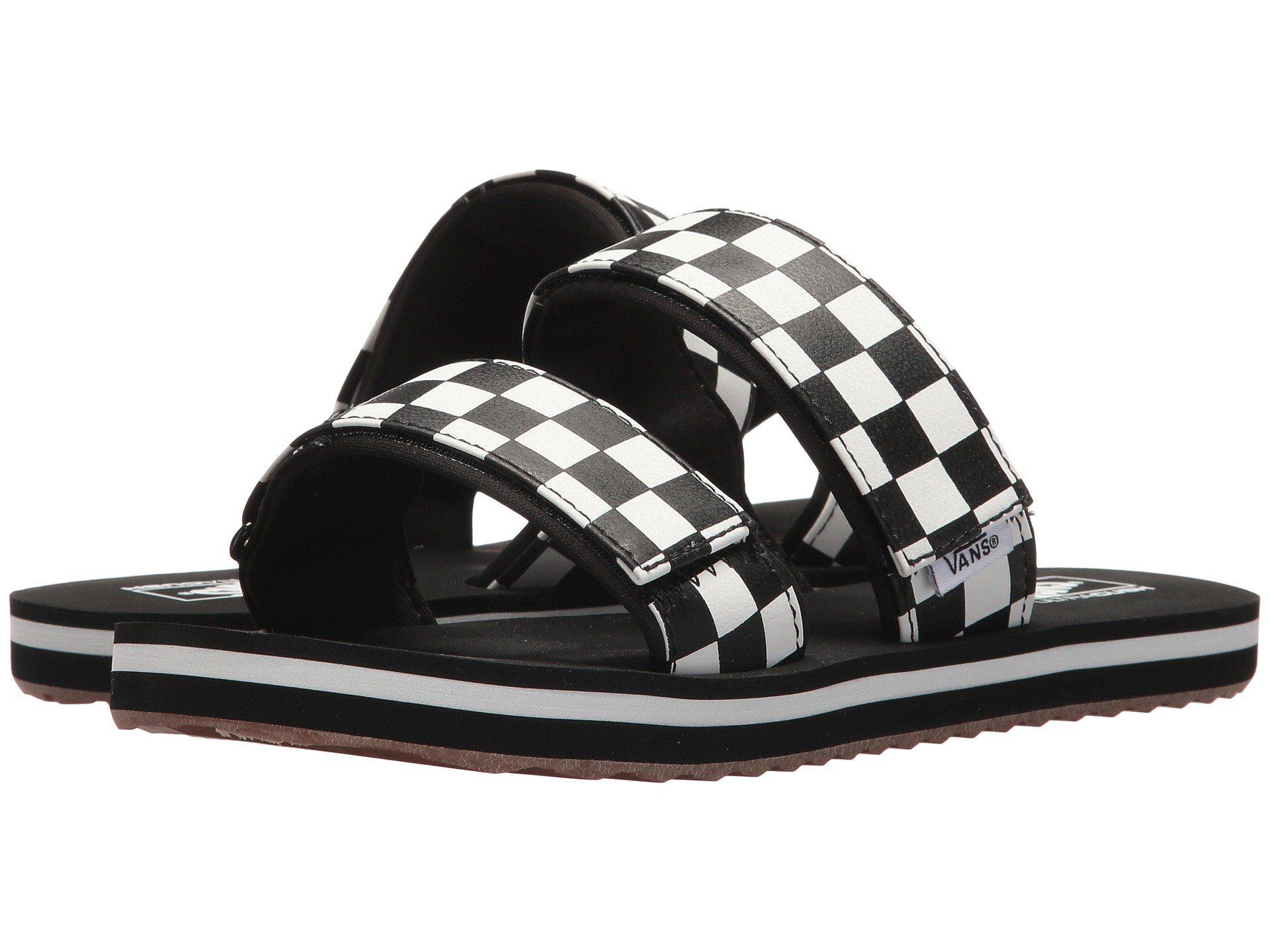 198f35f821d6 Lyst - Vans Cayucas Slide in Black