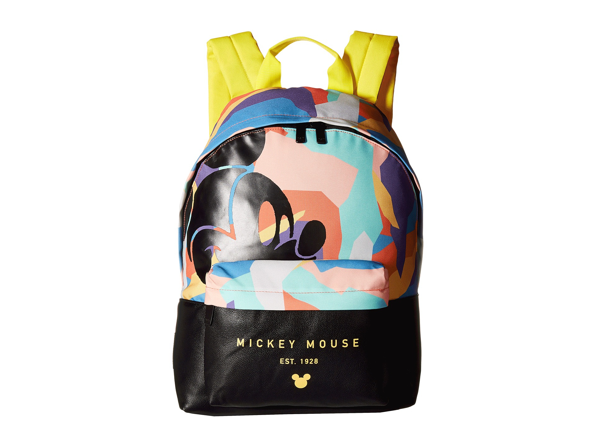 b02ce50e29f Lyst - Neff Abstract Mickey Professor Backpack in Black for Men