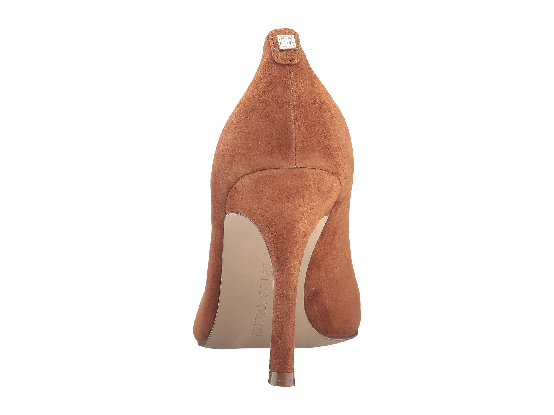 Ivanka Trump Blue Suede Shoes