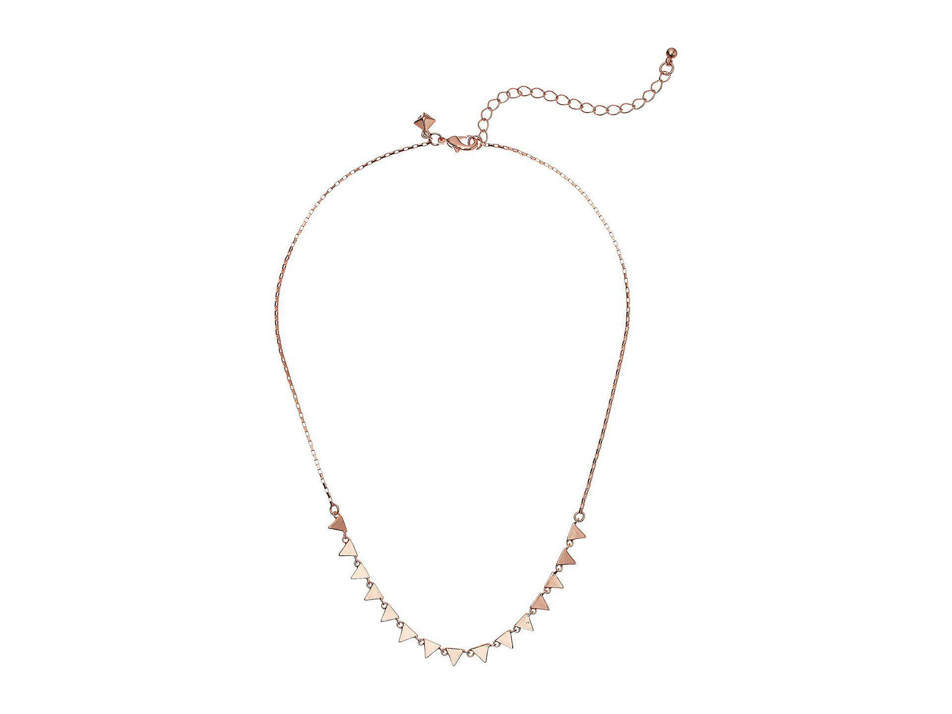 Ellie Triangle Necklace in Gold Rebecca Minkoff UxVA6a9ga