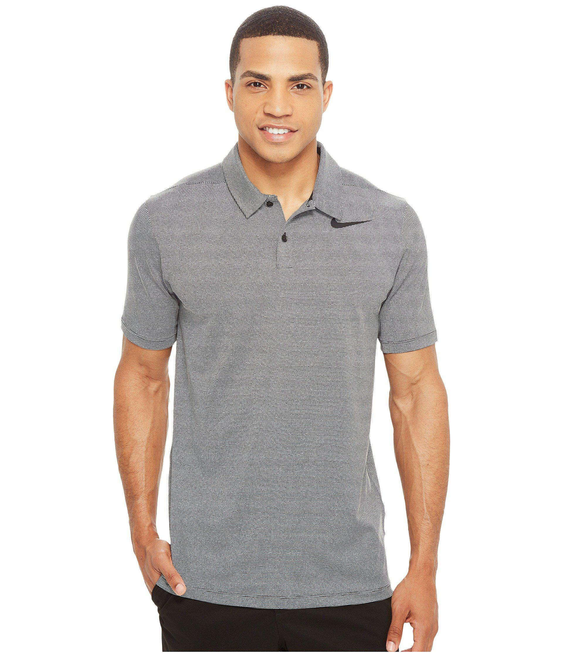 1ae65d6ce Lyst - Nike Mobility Control Stripe Polo in Gray for Men