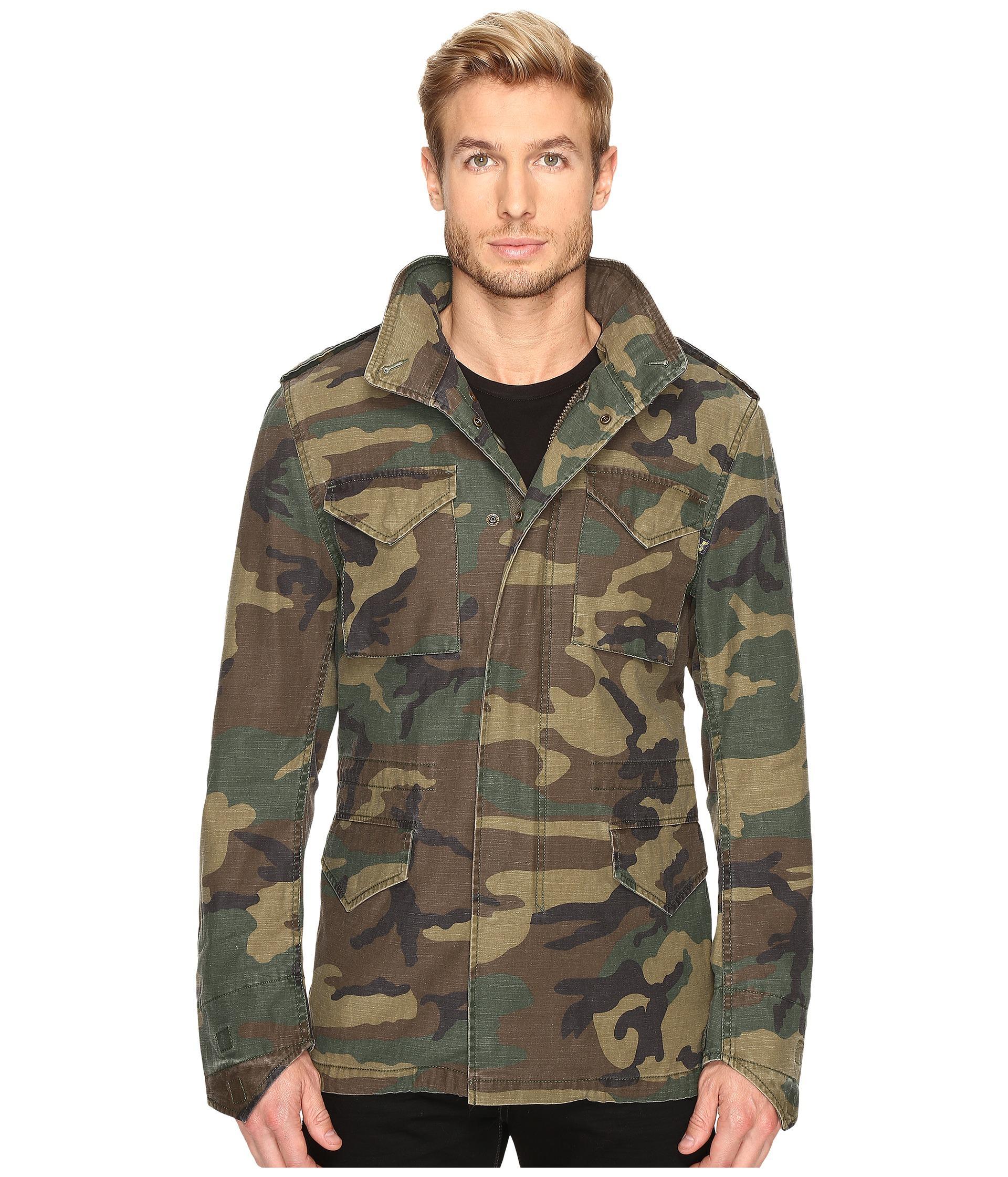 alpha industries m 65 defender field coat in multicolor. Black Bedroom Furniture Sets. Home Design Ideas