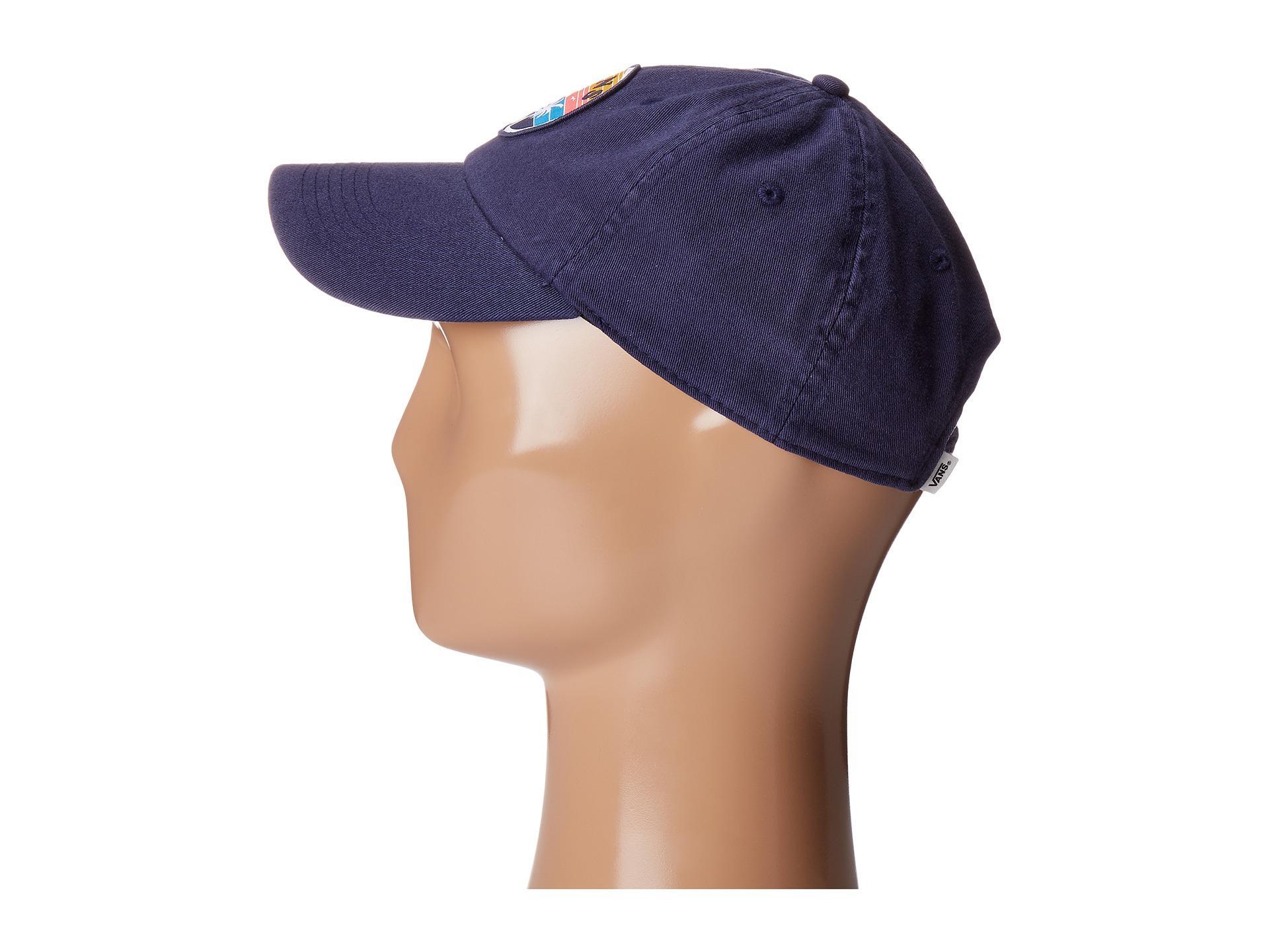 effb4cb044f158 Lyst - Vans Court Side Hat in Blue for Men