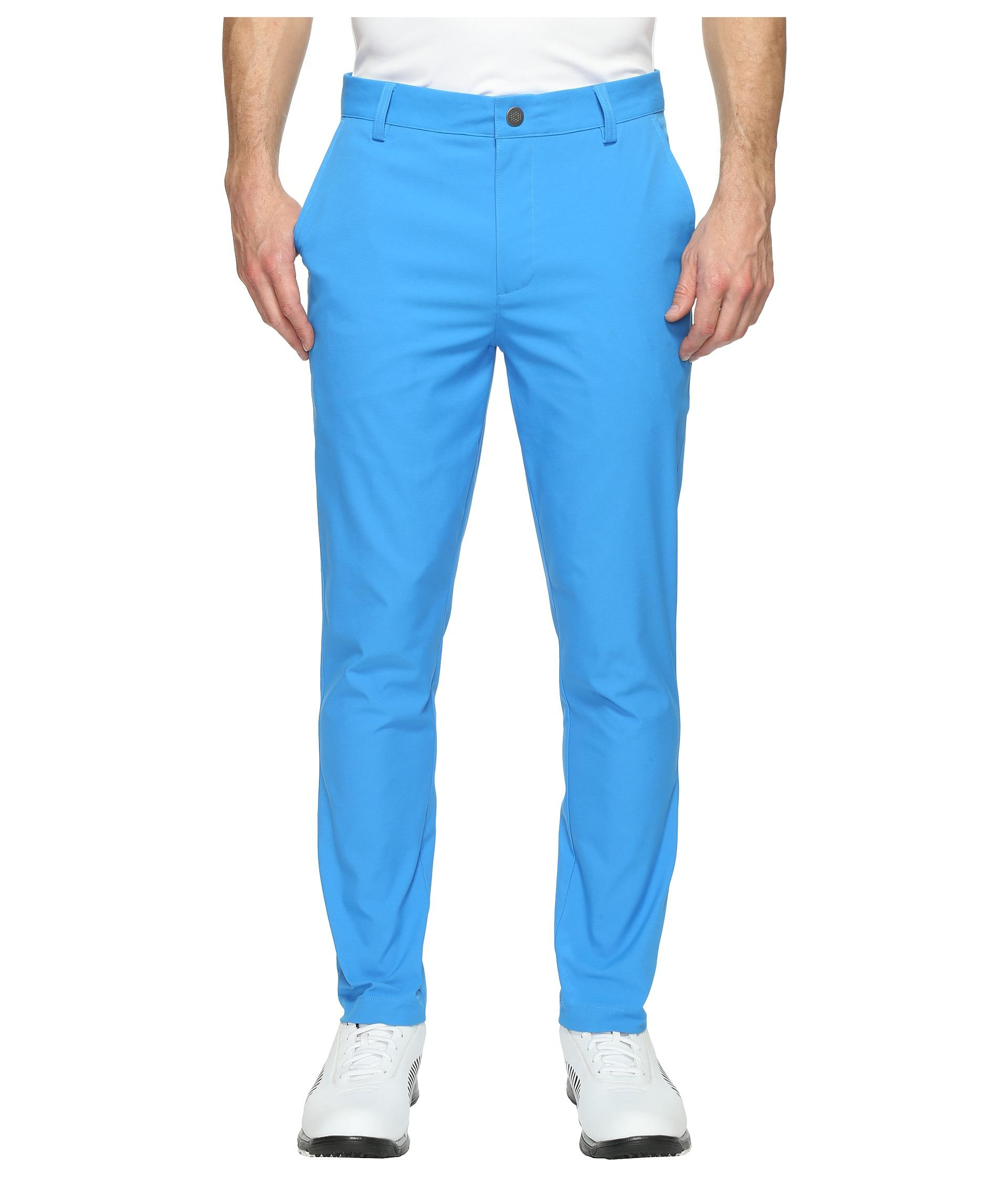 71079b001818 Lyst - PUMA Tailored Tech Pants in Blue for Men