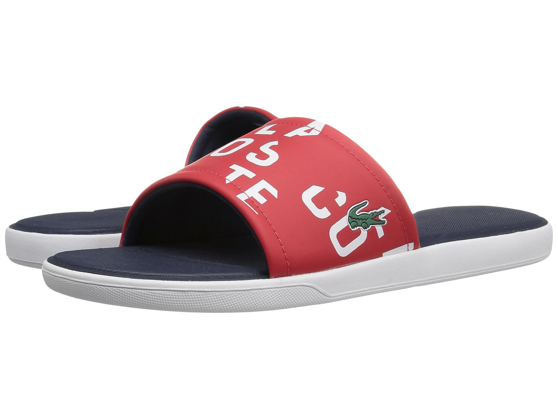 483eeccf16 Lyst - Lacoste L.30 Slide 117 2 Cam in Red