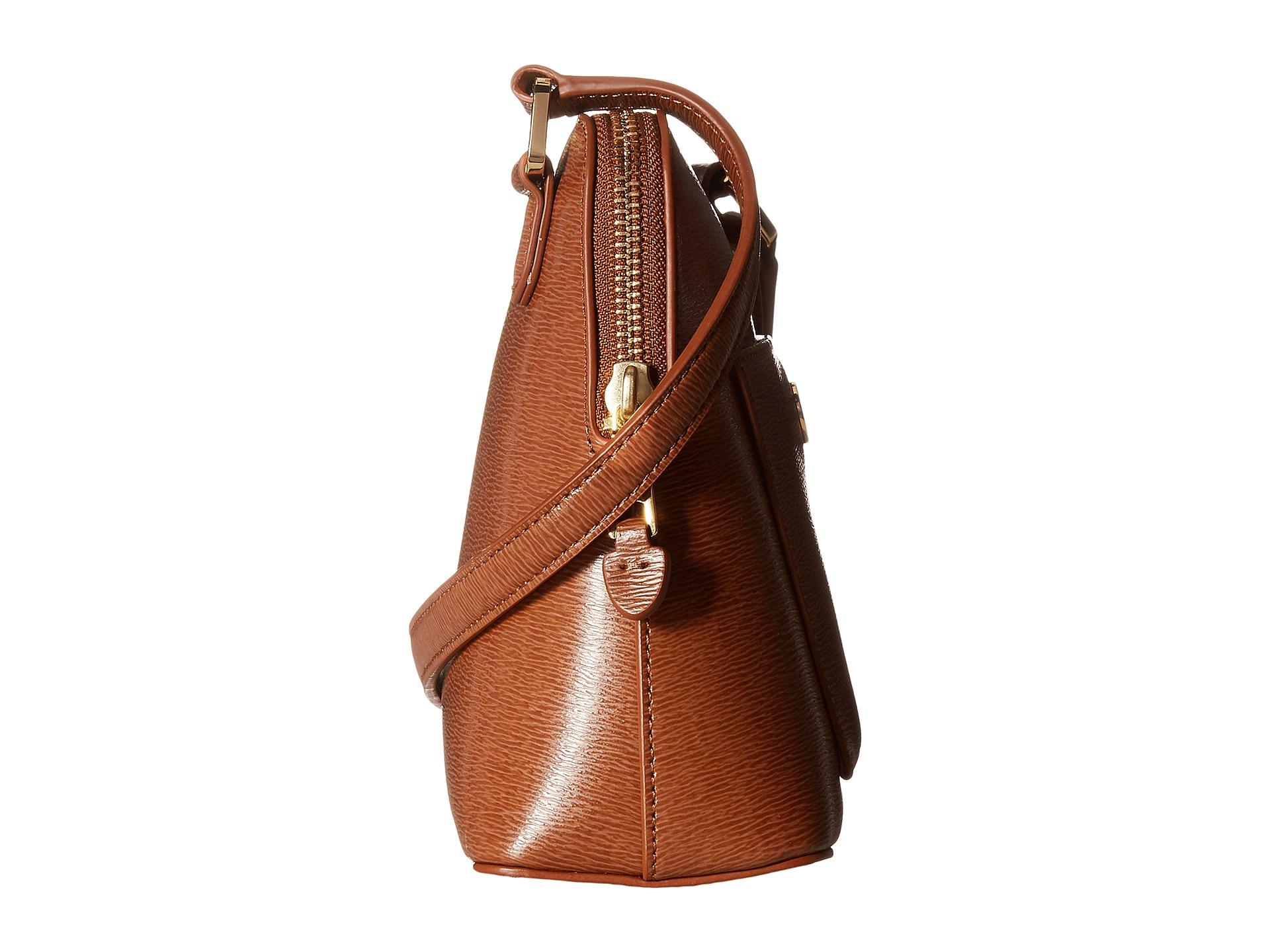 13f4f34546 Lyst - Lauren by Ralph Lauren Newbury Bailey Dome Crossbody