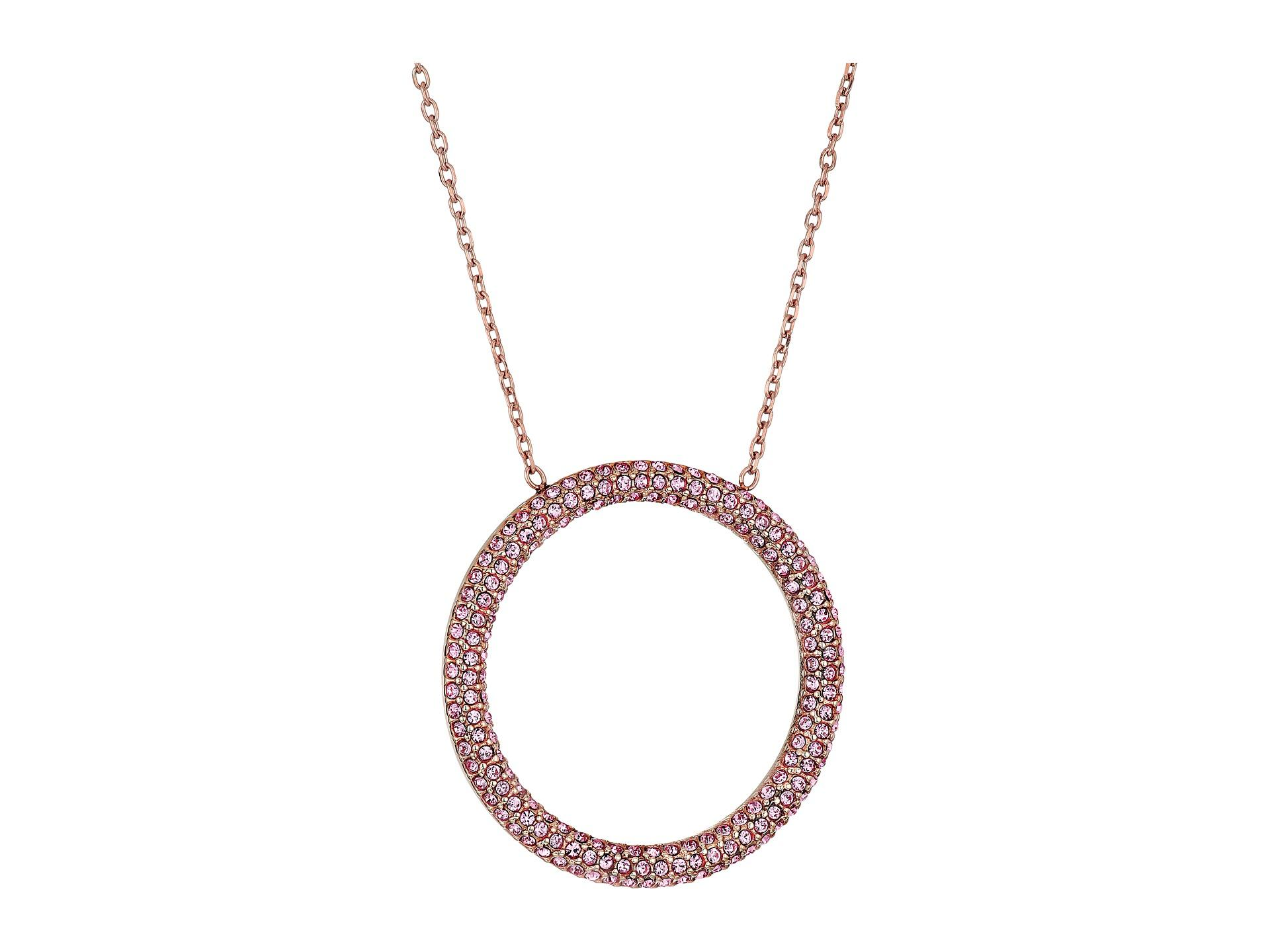 13f2ff0f034c2 Gallery. Previously sold at  Zappos · Women s Circle Necklaces Women s Michael  Kors Pendant ...