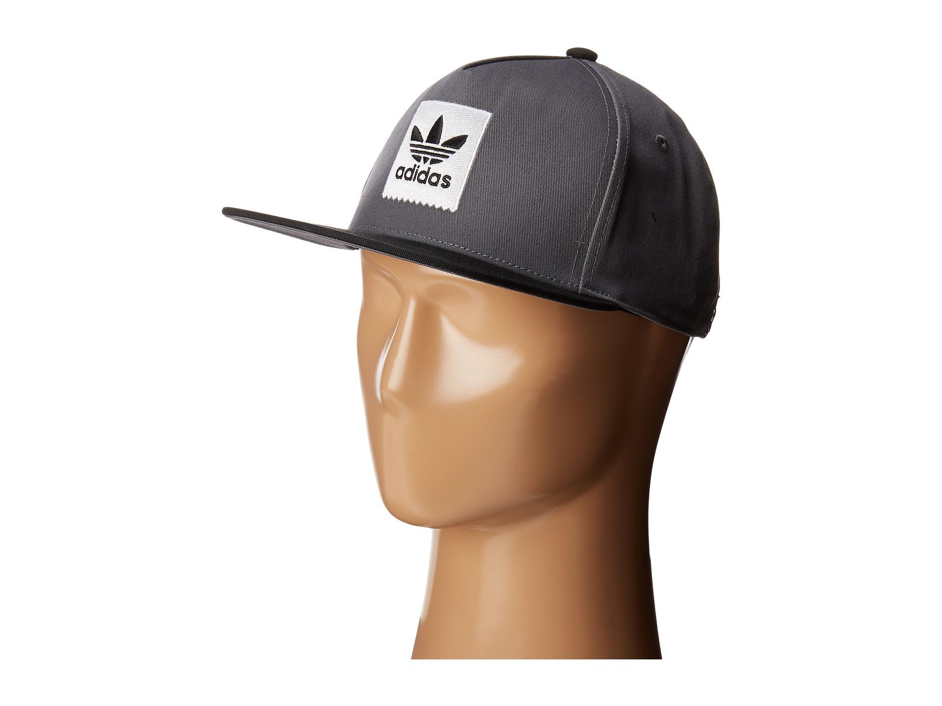 5f0d11ba26d48 Lyst - adidas Originals Two-tone Blackbird Snapback Hat in Gray for Men