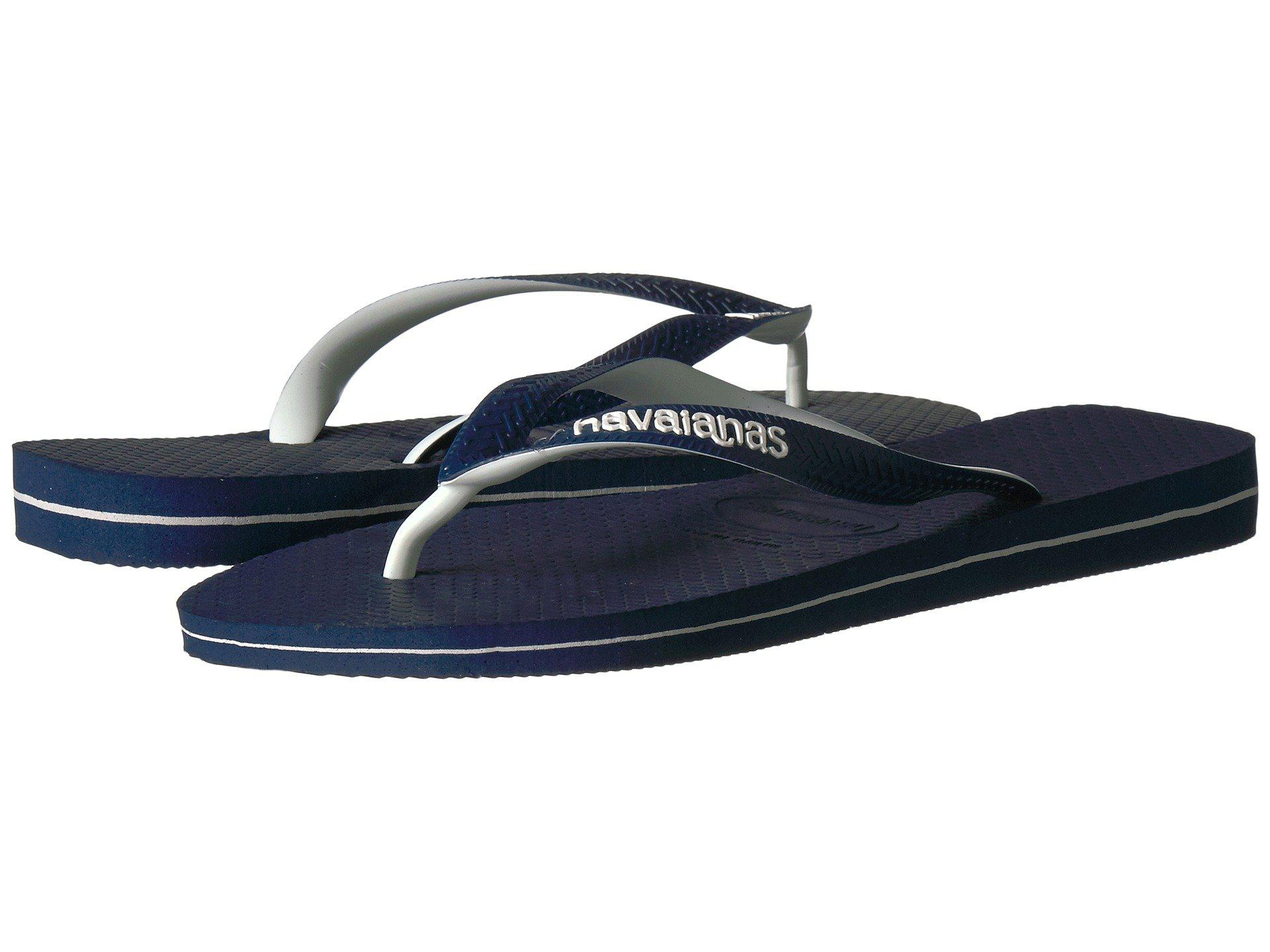fd8afaa96032 Lyst - Havaianas Top Logo Filete Mix Sandal in Blue