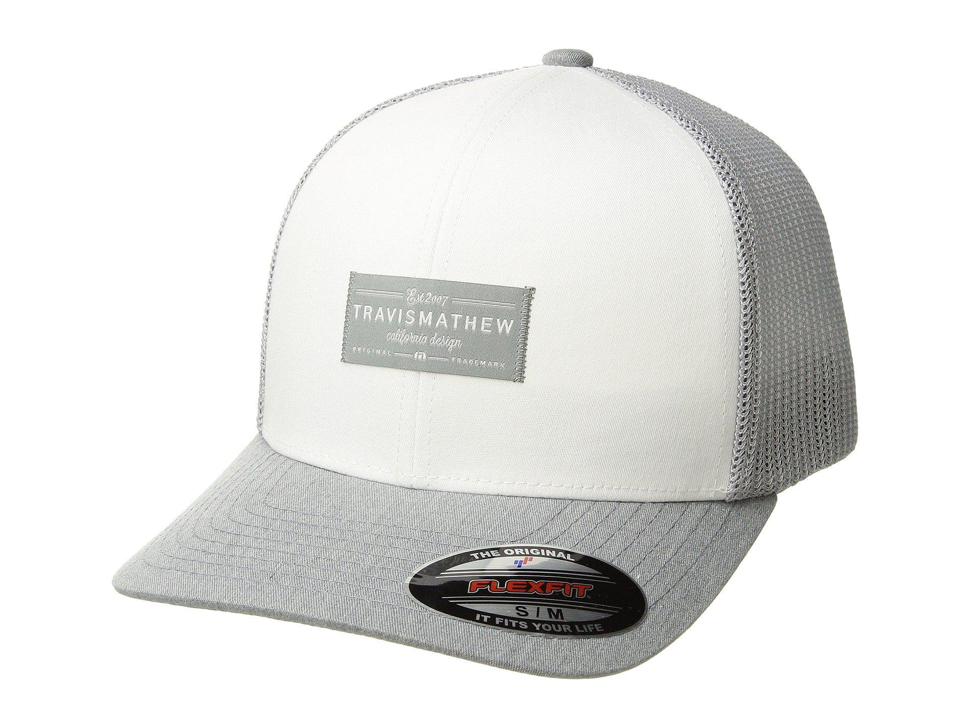 on sale 7fb02 36994 ... spain lyst travis mathew zigrat white caps in white for men 628de c1237