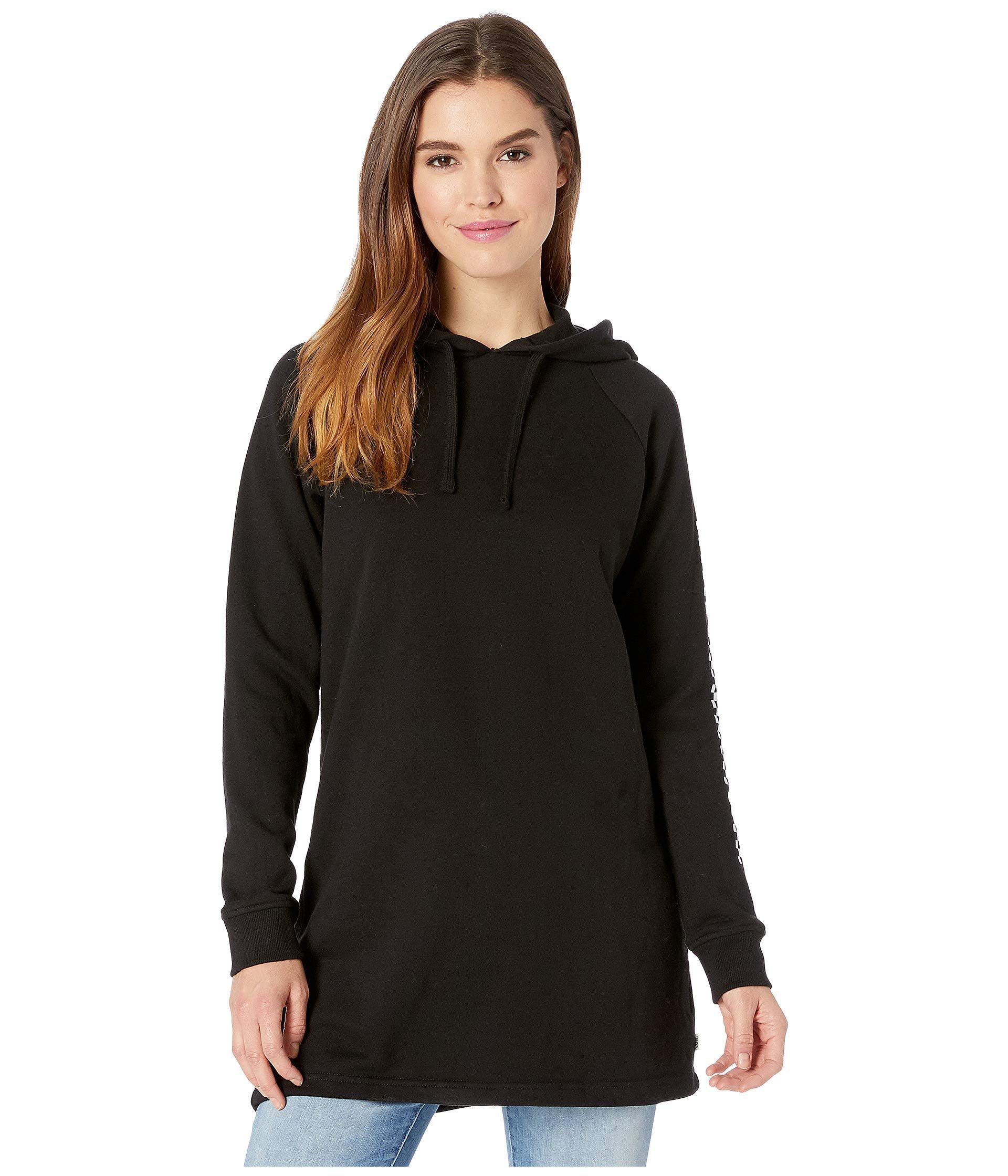 55409f0df1f Lyst - Vans Funday Hoodie Dress (black) Women s Dress in Black