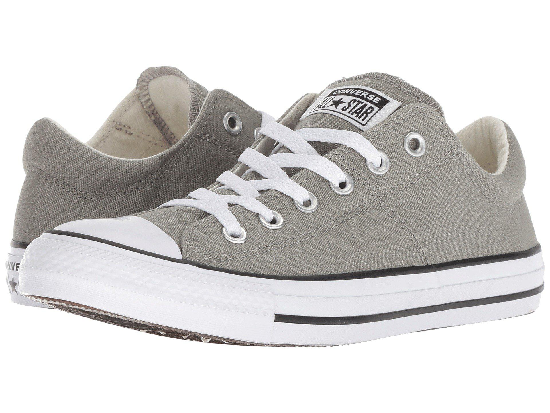 0f70504f2fb6d4 Lyst - Converse Chuck Taylor All Star Madison - Ox (white white ...