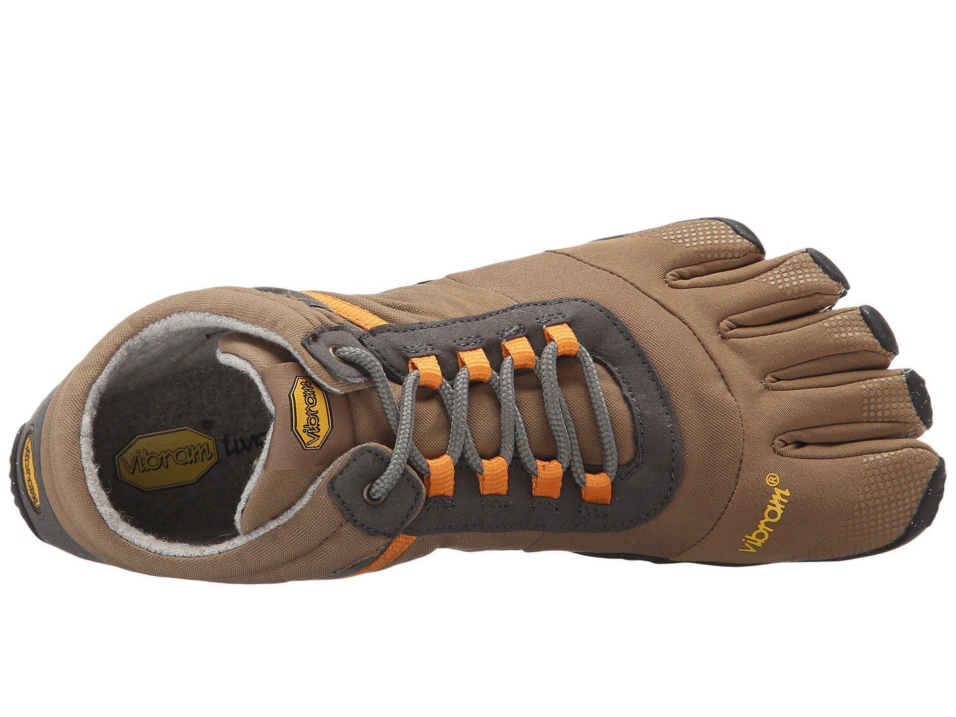 5da59d57793e Vibram Fivefingers - Gray Trek Ascent (insulated Black) Men s Shoes for Men  - Lyst. View fullscreen