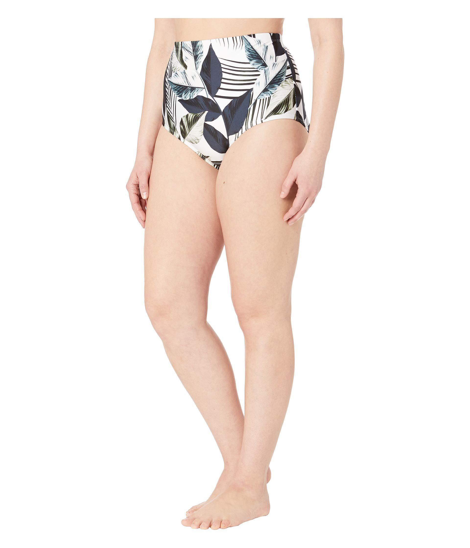 541bff87d1 Lyst - La Blanca Plus Size Moment Of Zen High-rise Bottoms (blue) Women s  Swimwear in Blue