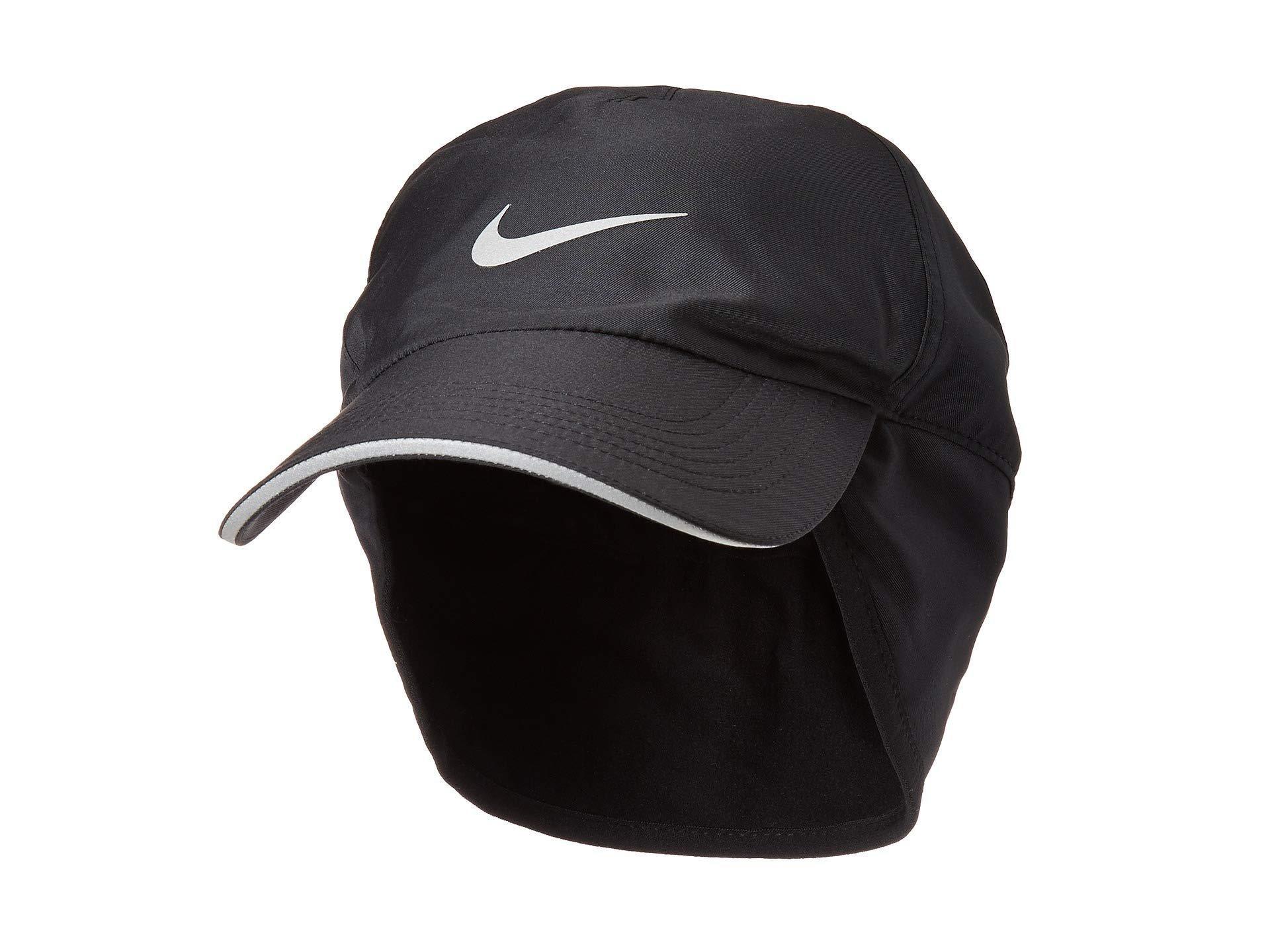 43291e956ac Lyst - Nike H86 Arobill Earflap Cap (black black) Caps in Black for Men