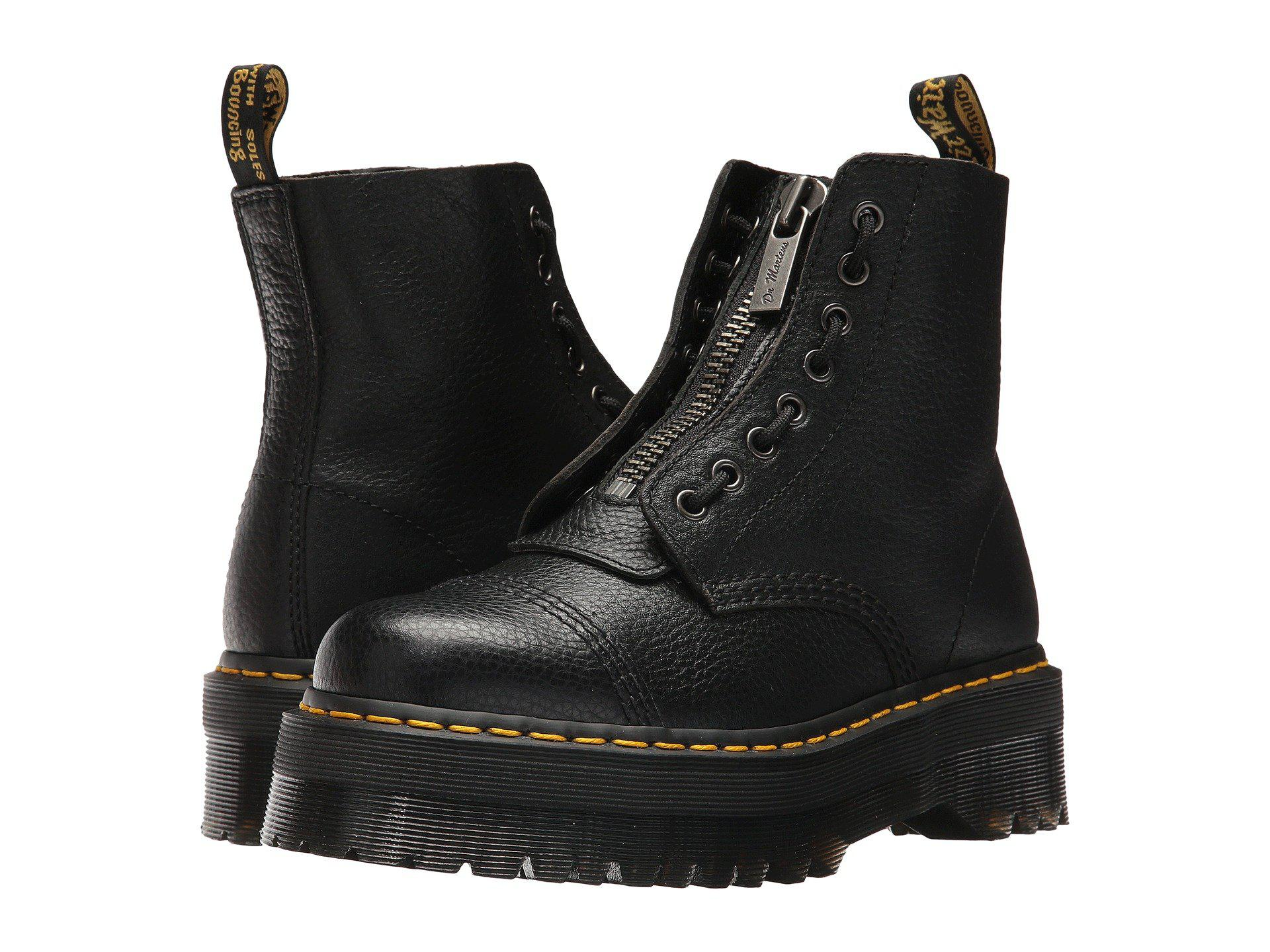 482a43ab Dr. Martens Sinclair Jungle Boot in Black - Lyst