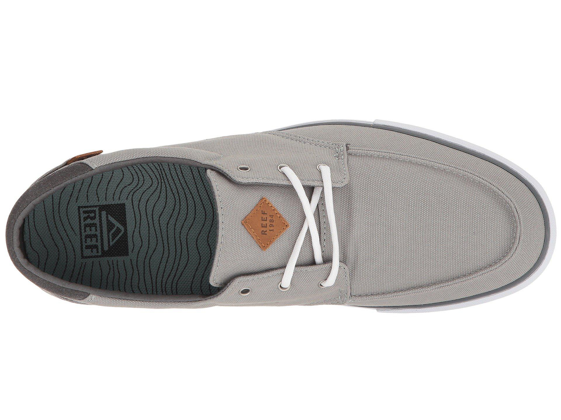 8db350fd5c7e Reef - Gray Deckhand 3 (grey white) Men s Lace Up Casual Shoes for. View  fullscreen