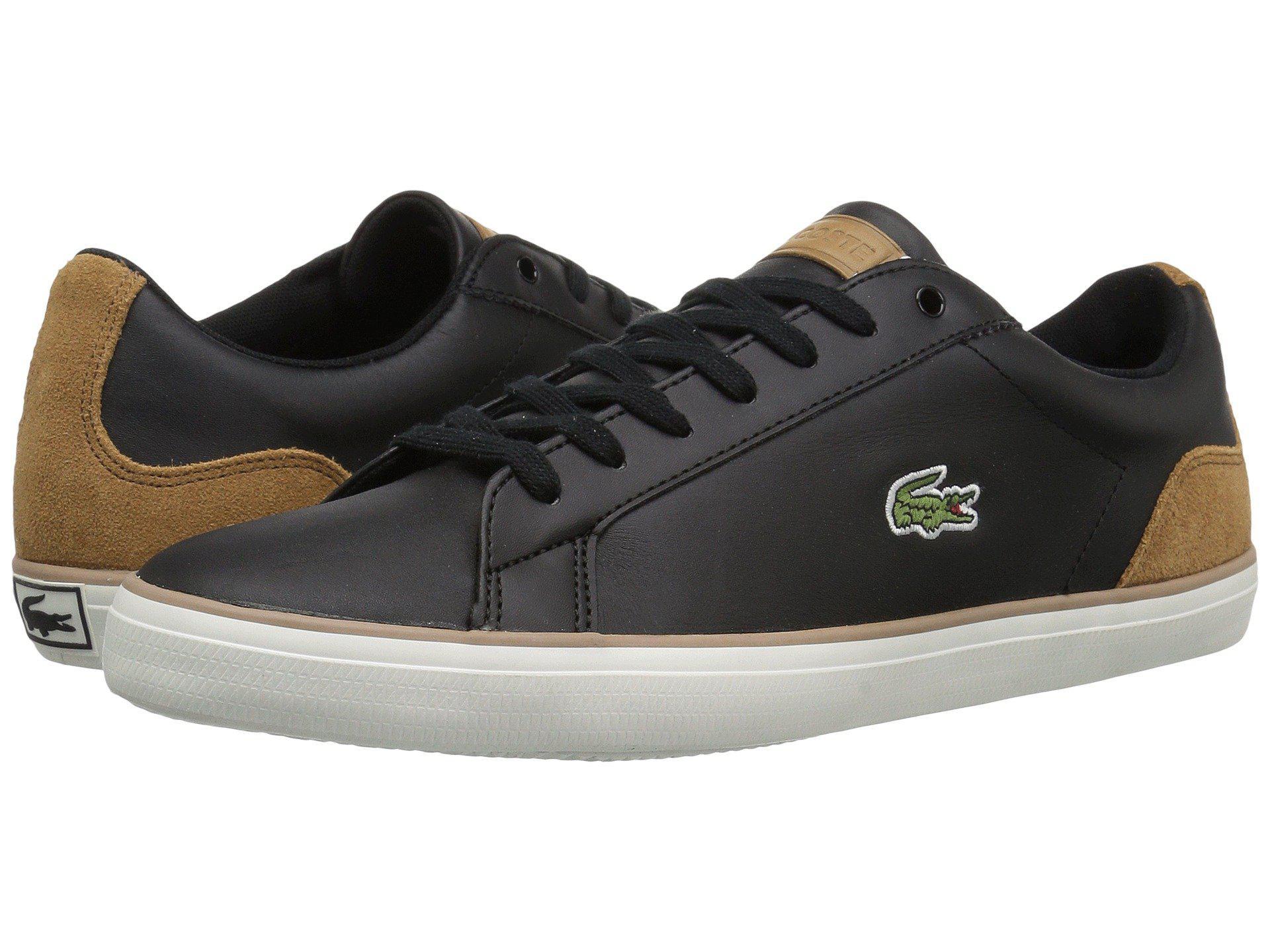 9483be568fbc4 Lyst - Lacoste Lerond 118 1 (black light Brown) Men s Shoes in Black ...