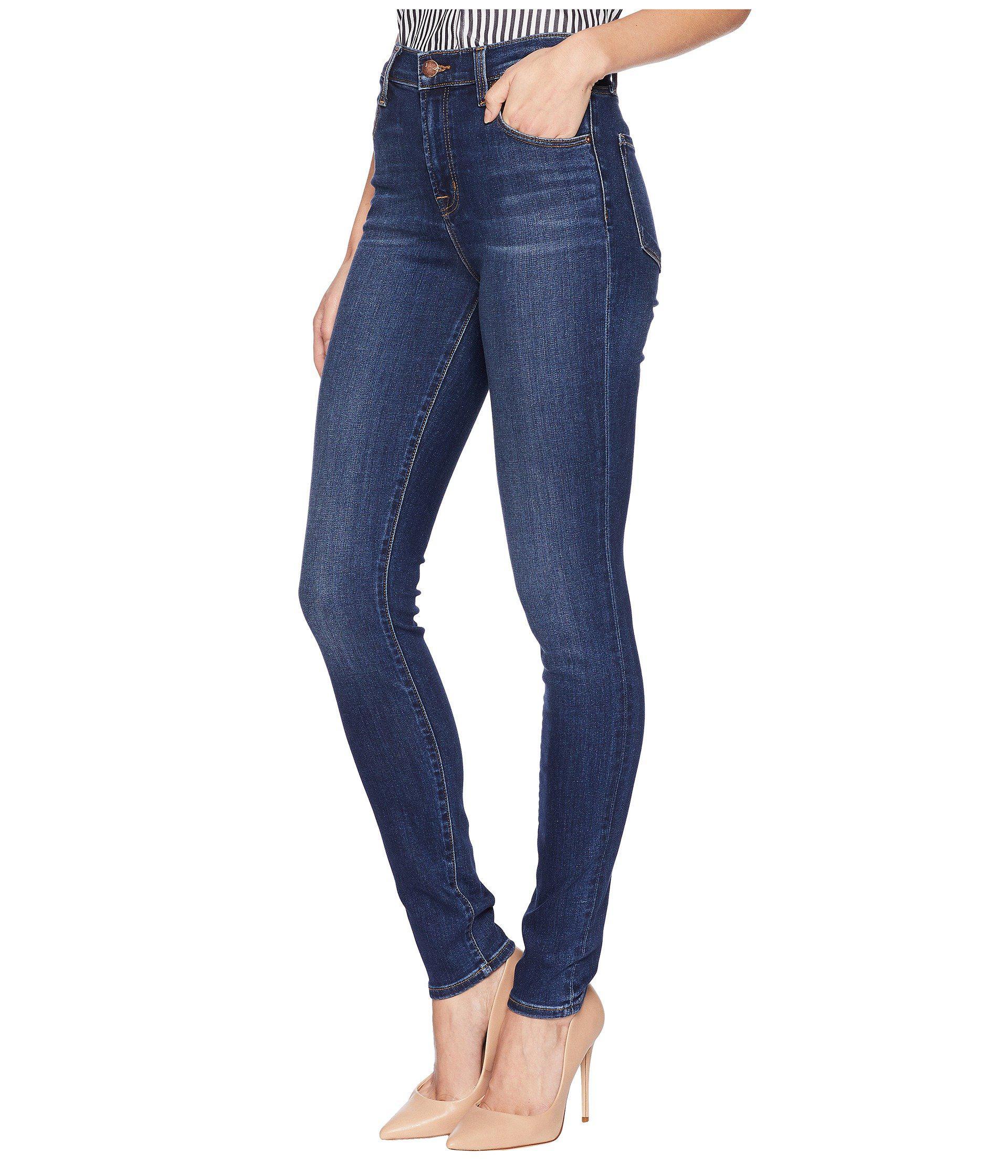 44a8832aa90 Lyst - J Brand Maria High-rise Skinny In Fleeting (fleeting) Women s Jeans  in Blue