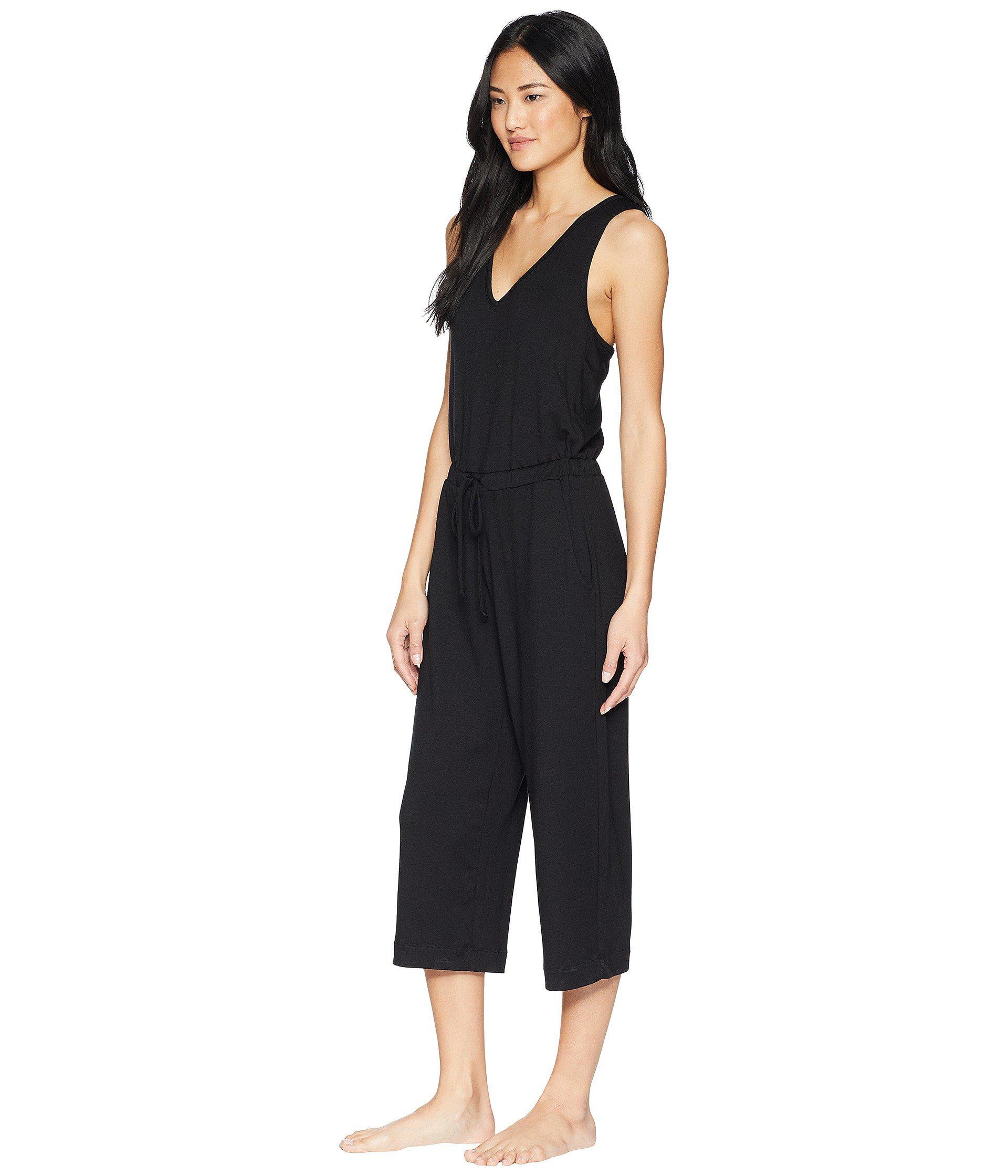 c4d0a9c7bd4e Lyst - Beyond Yoga Farrah Cropped Jumpsuit (black) Women s Jumpsuit    Rompers One Piece in Black