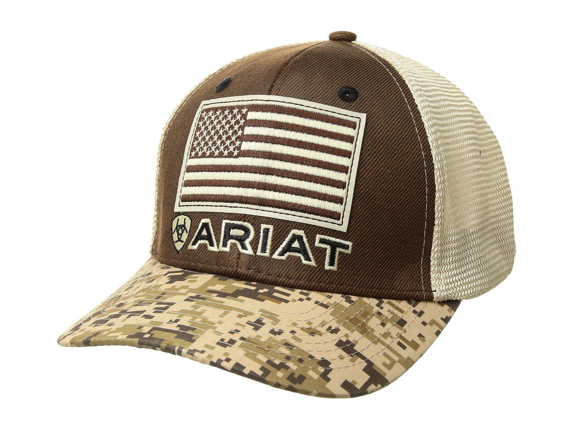 d39946063a74f ... buy ariat. mens sport patriot snapback cap 23963 cdb87