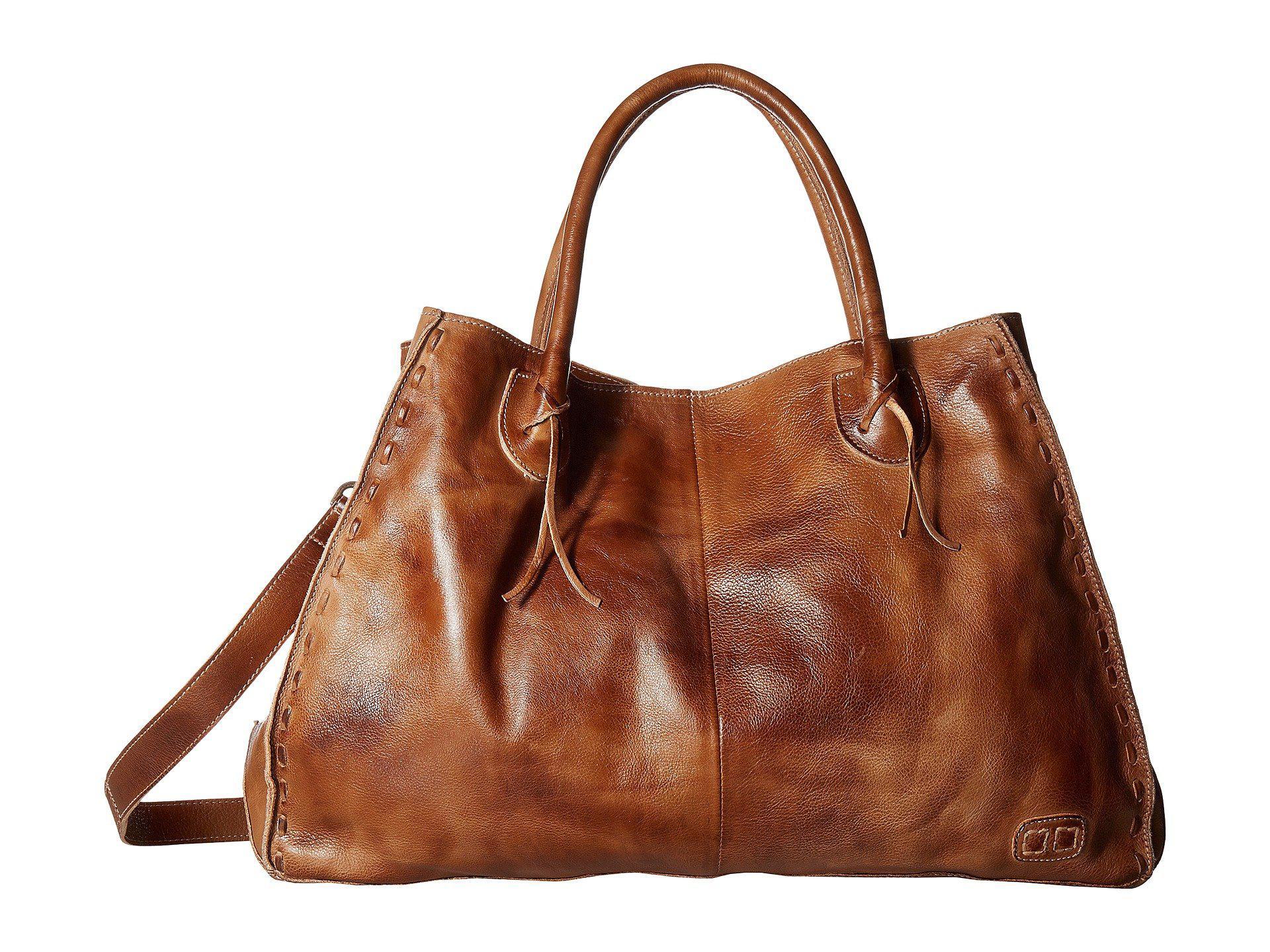 61ed50e19a45 Lyst - Bed Stu Rockaway (tan Rustic) Handbags in Brown